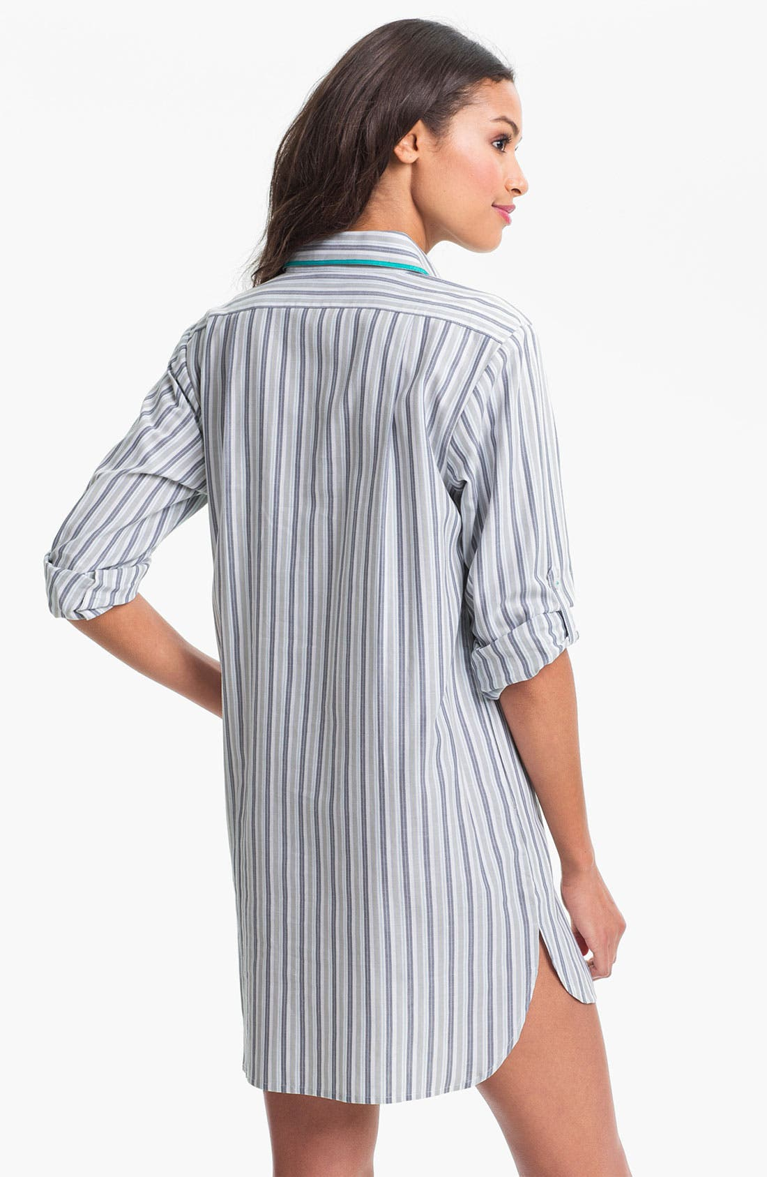 Alternate Image 2  - DKNY 'Sugar Rush' Woven Nightshirt