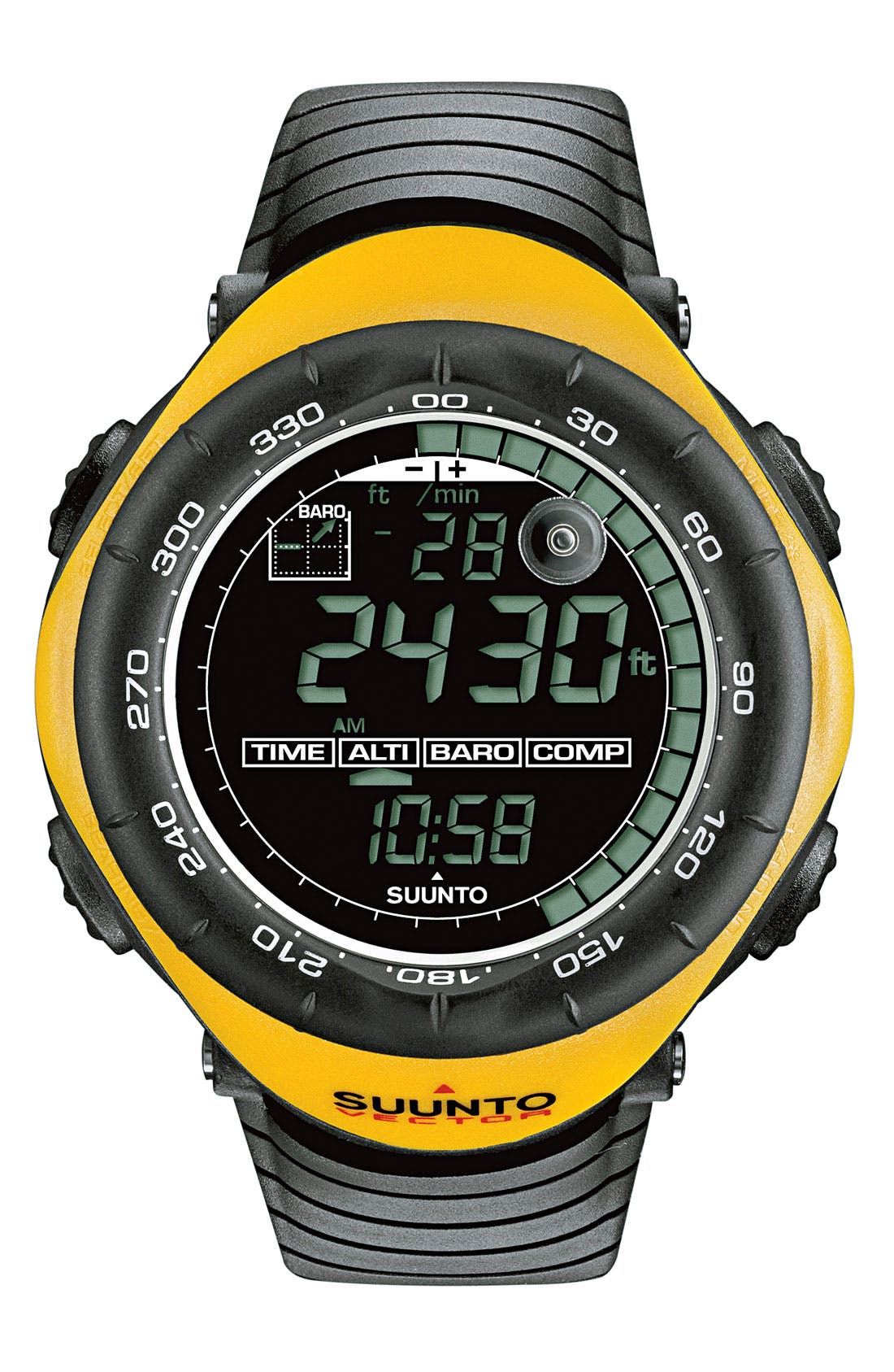 Alternate Image 1 Selected - Suunto 'Vector' Multifunction Watch, 52mm