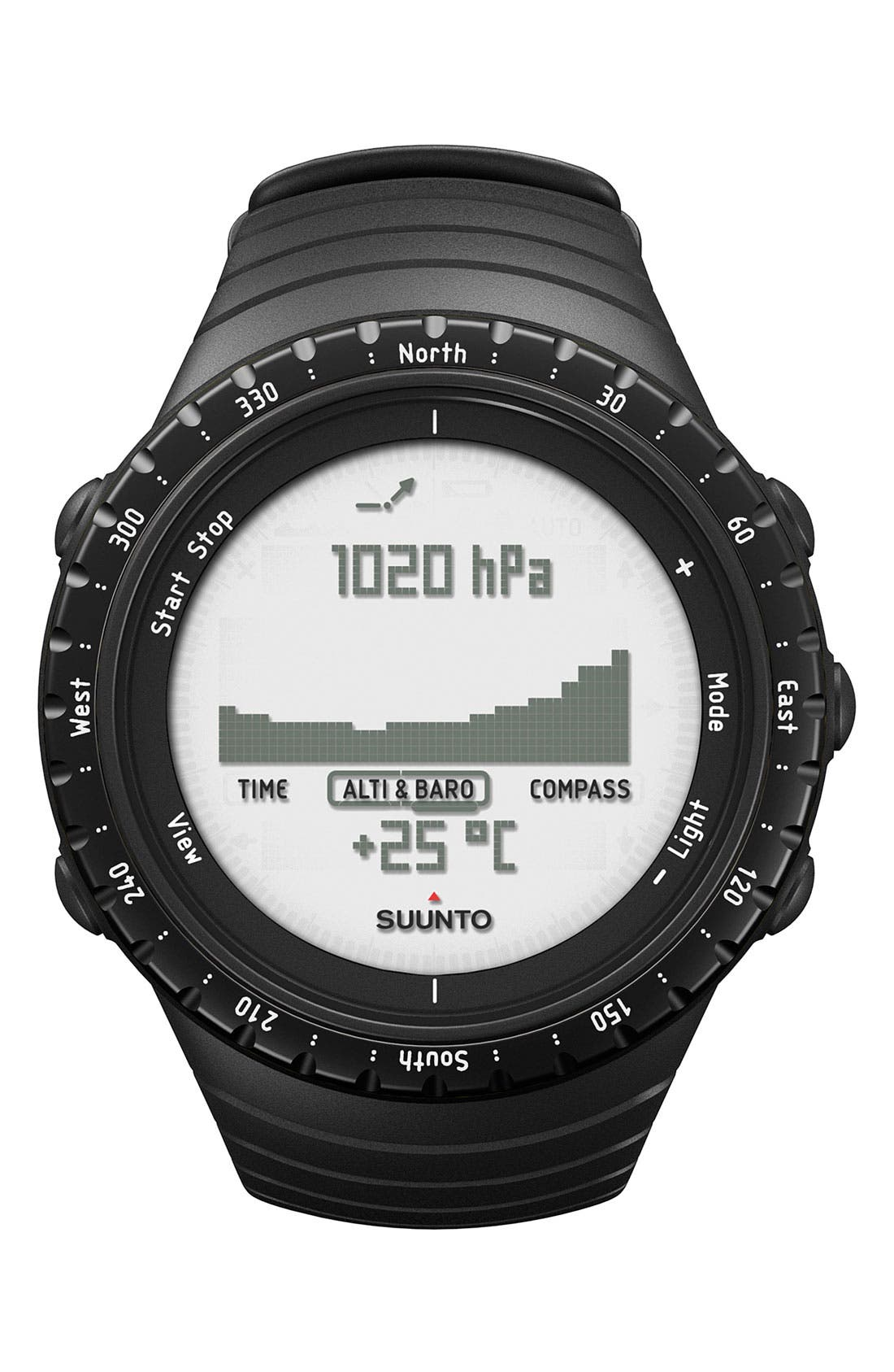 Alternate Image 1 Selected - Suunto 'Core' Multifunction Watch, 50mm