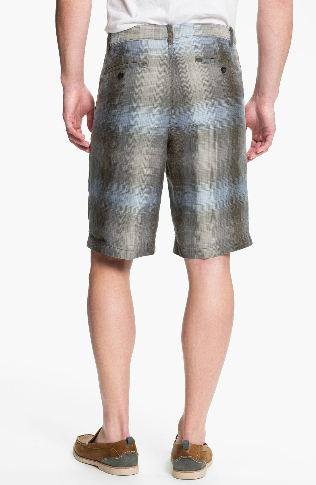 Alternate Image 2  - Tommy Bahama 'Balken' Plaid Shorts