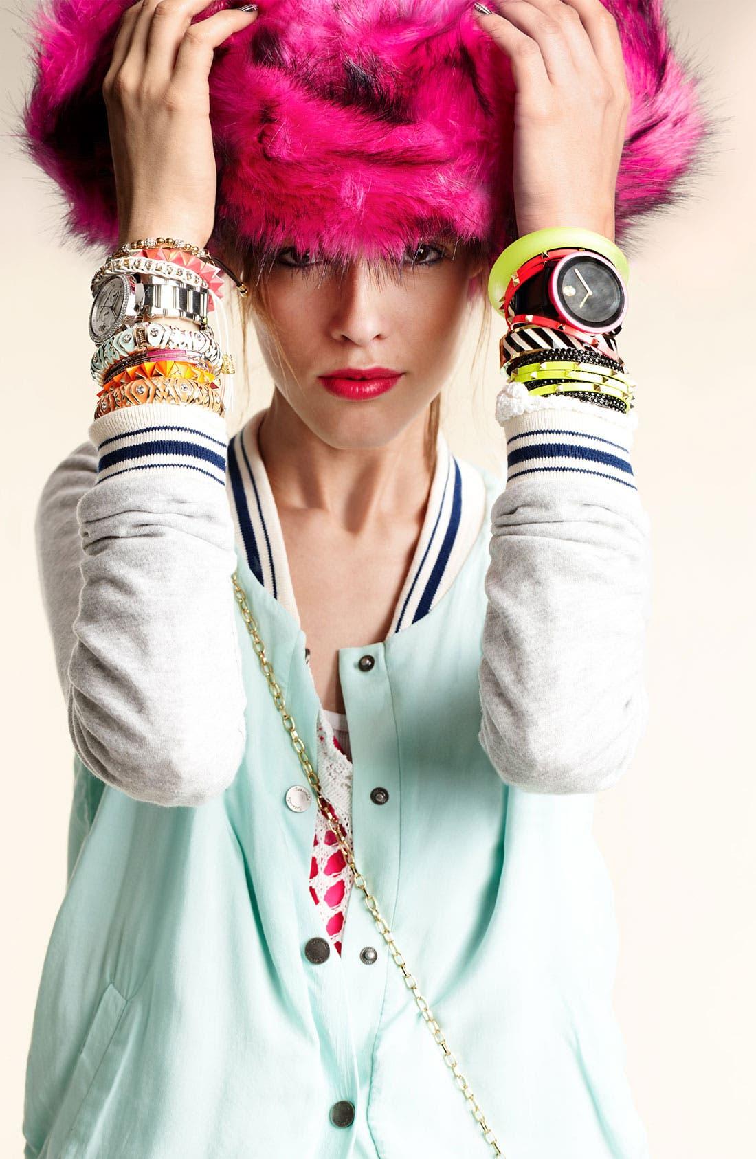 Alternate Image 6  - Cara Studded Bangles (Set of 3)