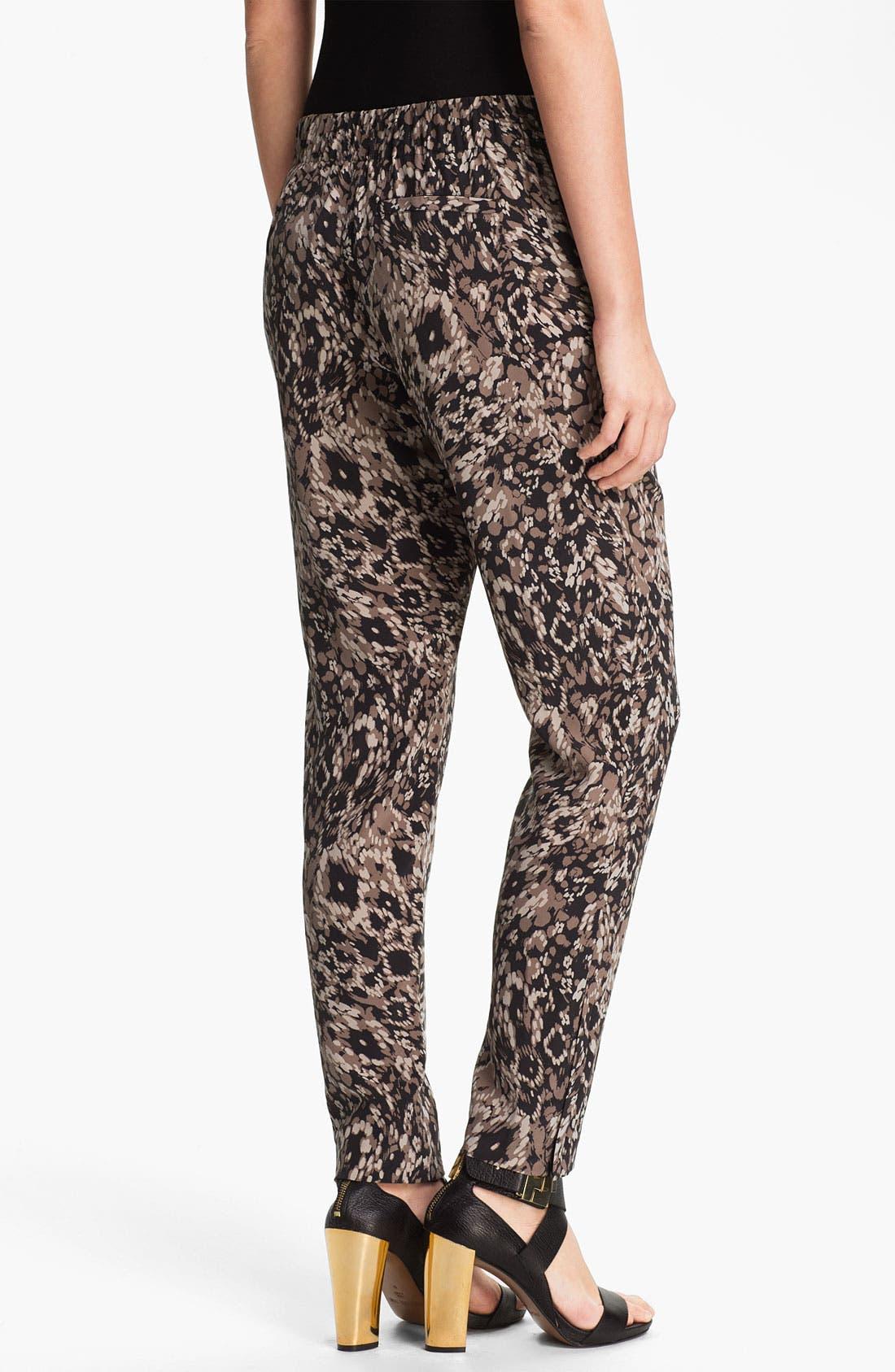 Alternate Image 2  - Rachel Zoe 'Mona' Pintucked Silk Pants