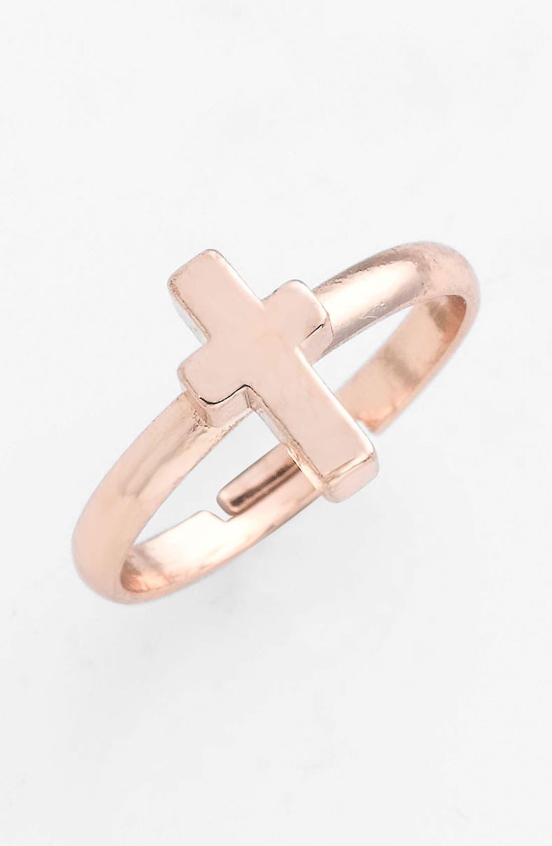 Alternate Image 1 Selected - BP. Midi Cross Ring