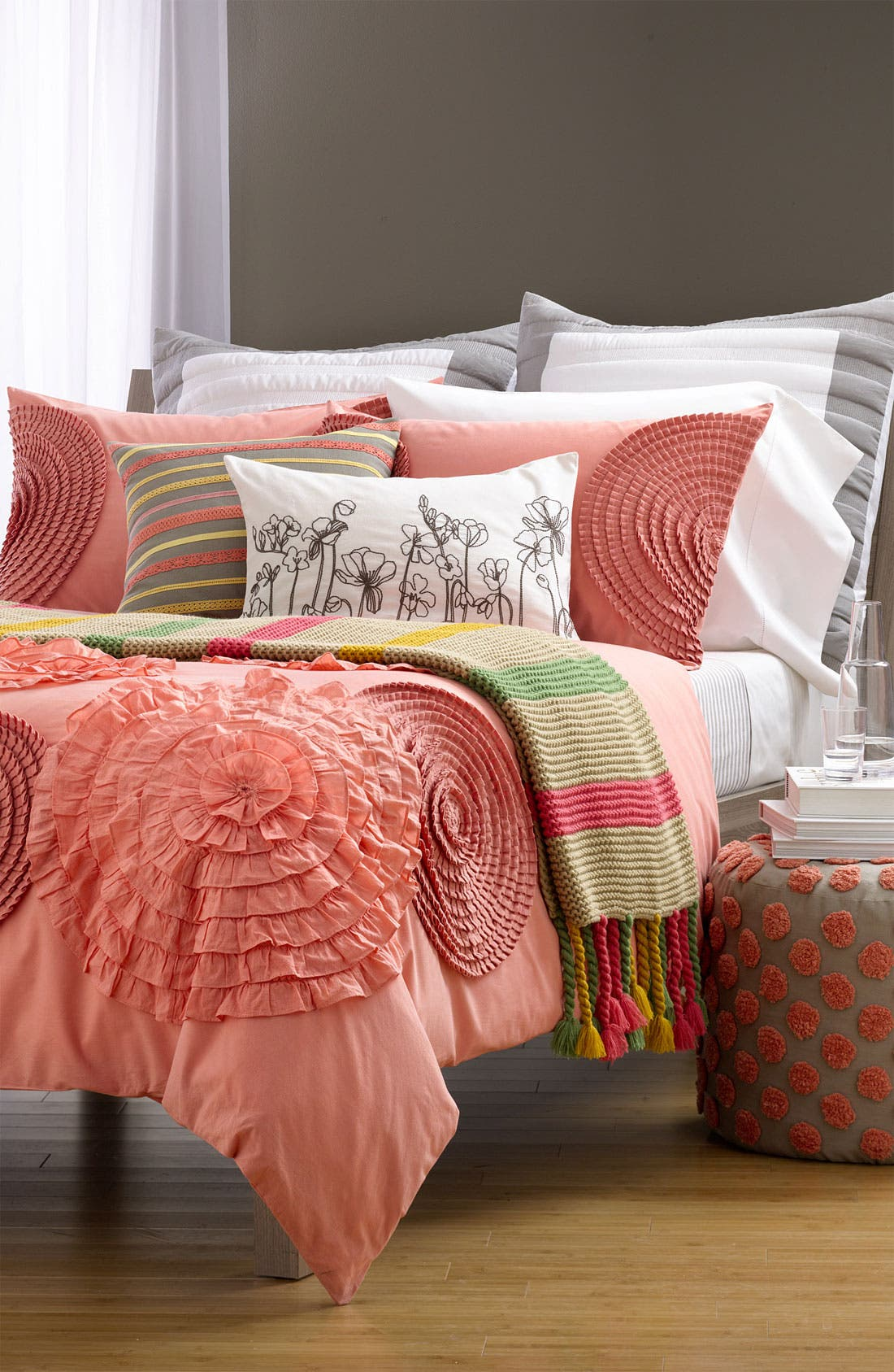 Alternate Image 2  - Nordstrom at Home 'Sketchbook' Embroidered Pillow Cover