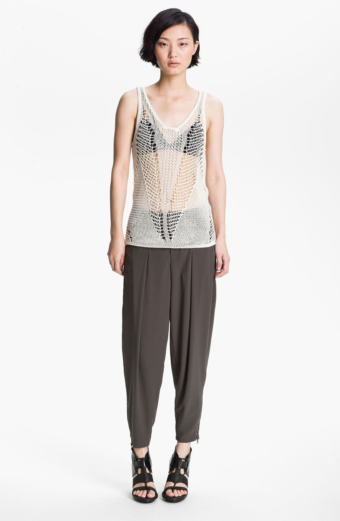 Alternate Image 1 Selected - Helmut Lang Tank, Crop Pants & HELMUT Helmut Lang Bra