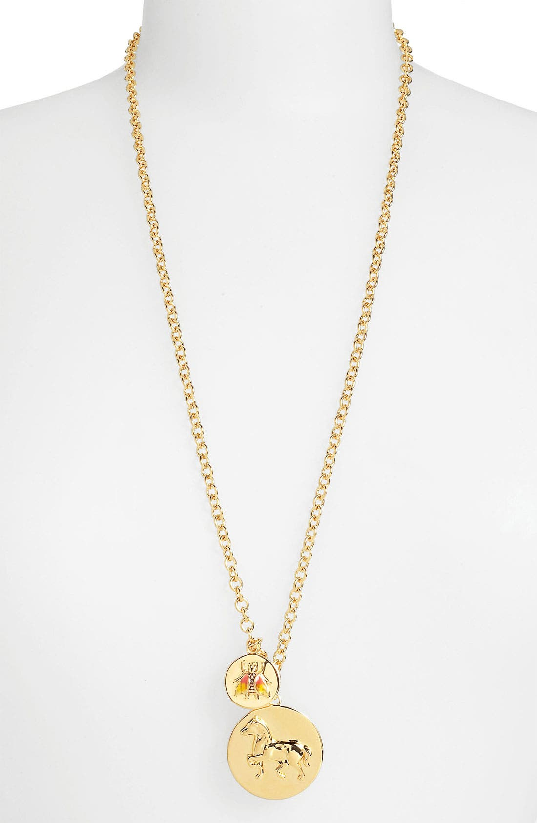 Alternate Image 2  - Tory Burch 'Buddy' Long Cluster Pendant Necklace