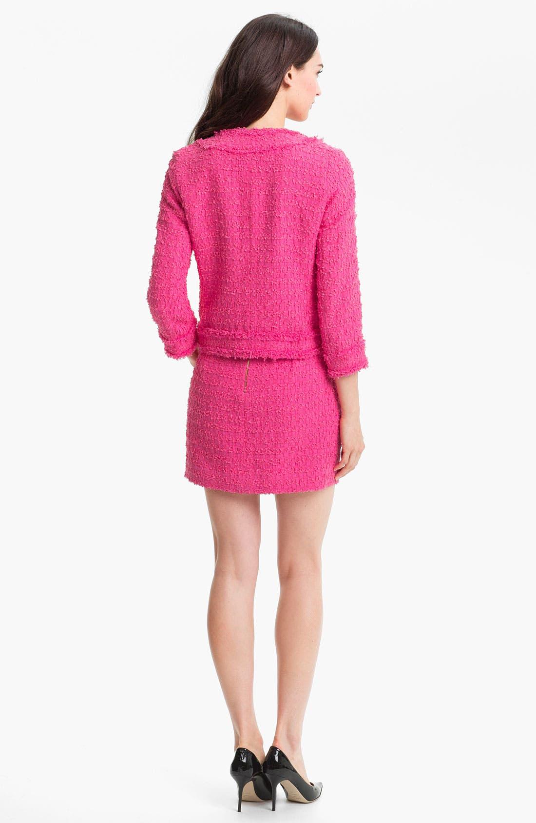 Alternate Image 5  - kate spade new york 'robbie' woven skirt
