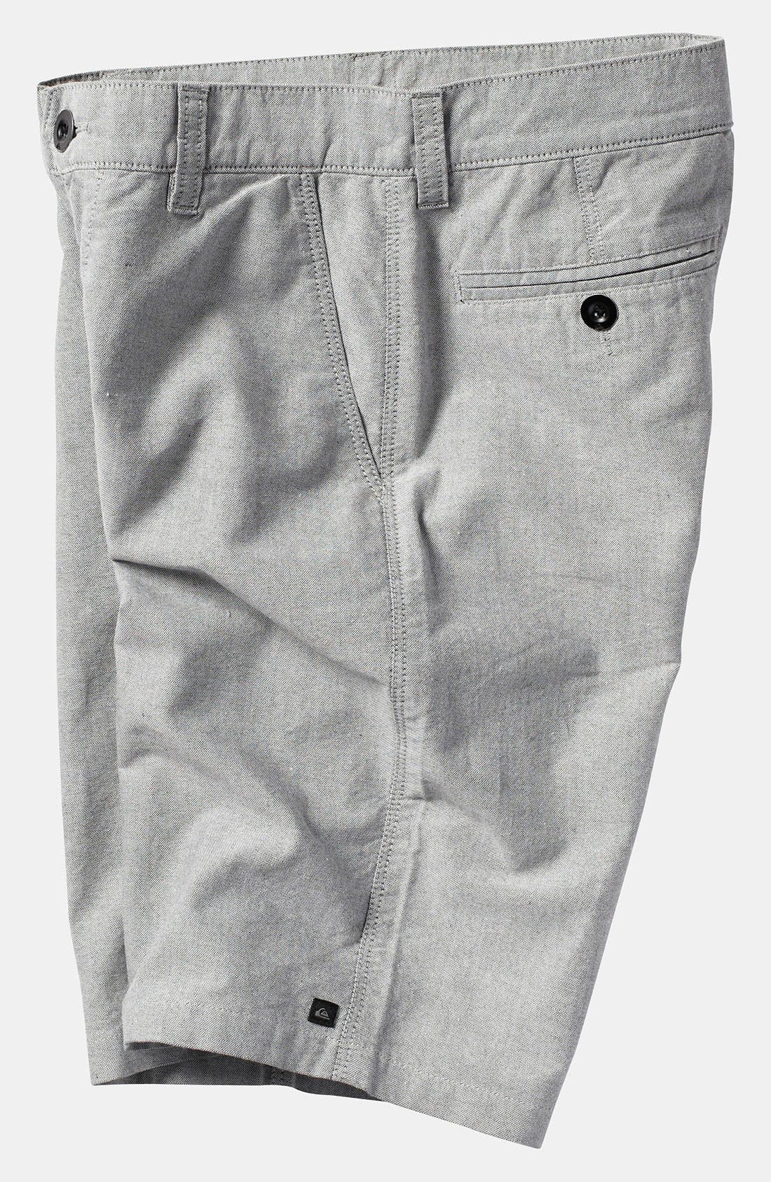 Alternate Image 2  - Quiksilver 'Thurston' Chambray Shorts (Big Boys)