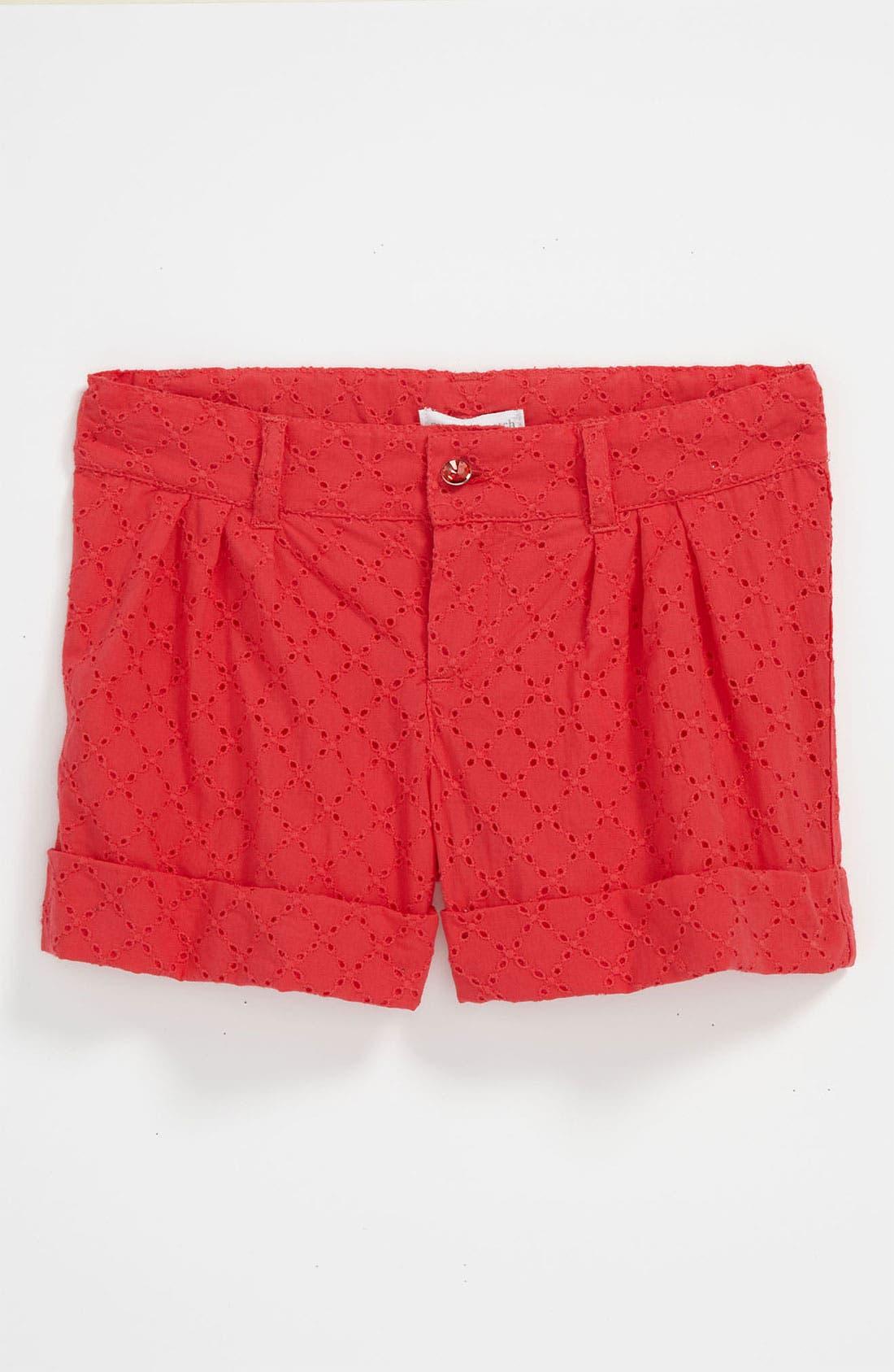 Alternate Image 1 Selected - Pumpkin Patch 'Spring Fiesta' Shorts (Little Girls & Big Girls)