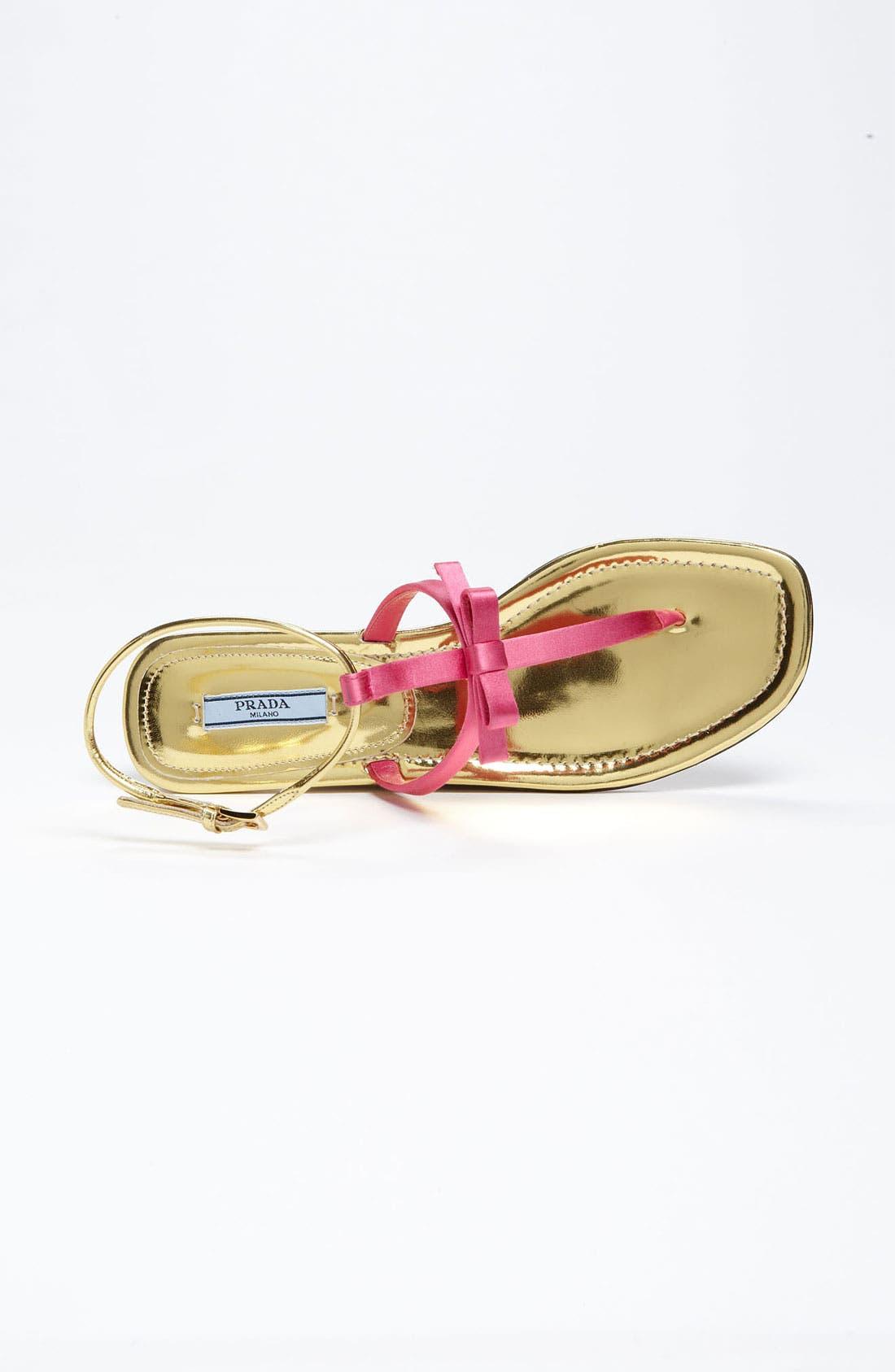 Alternate Image 3  - Prada T-Strap Sandal