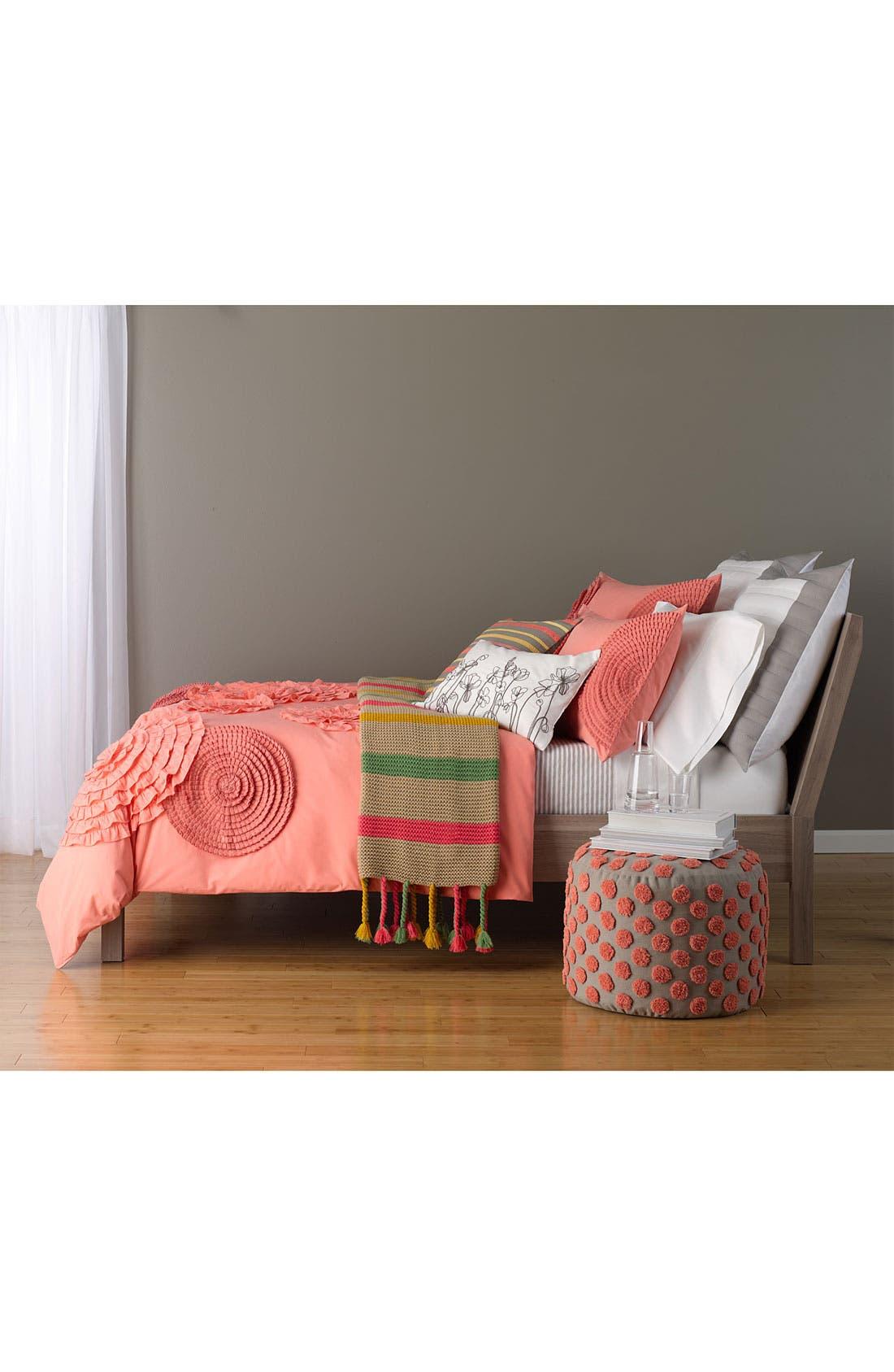 Alternate Image 3  - Nordstrom at Home 'Trim Stripes' Pillow Cover