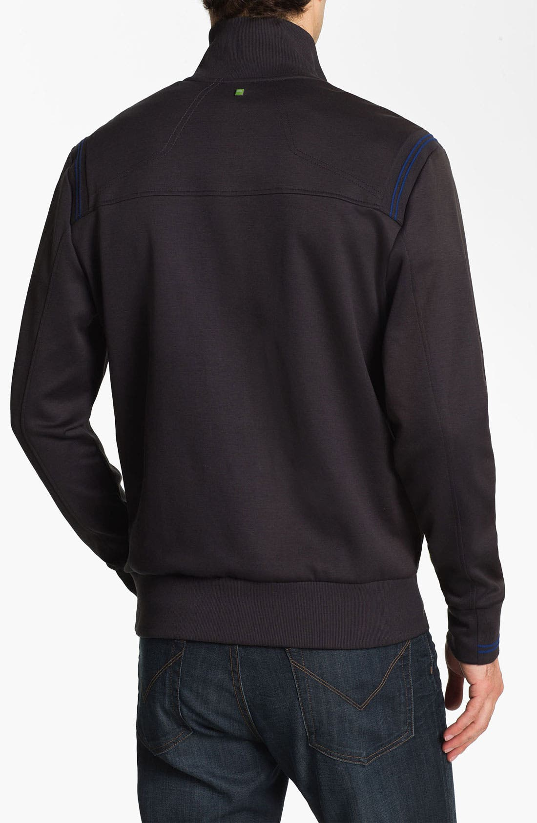 Alternate Image 2  - BOSS Green 'Skaz 1' Zip Fleece