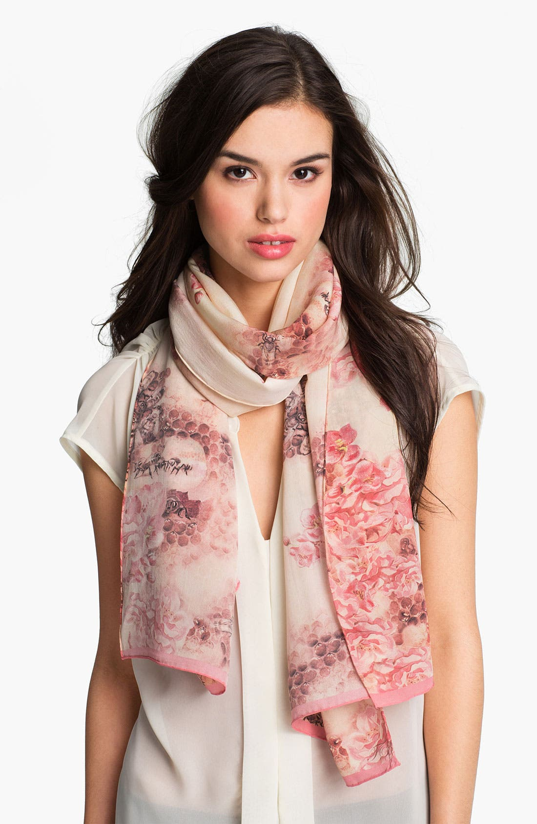 Main Image - Ted Baker London 'Busy Bee' Silk Scarf