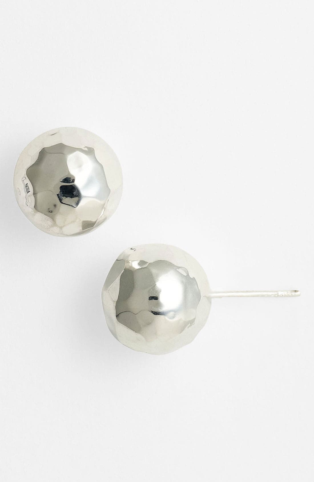 Main Image - Argento Vivo Ball Stud Earrings (Nordstrom Exclusive)