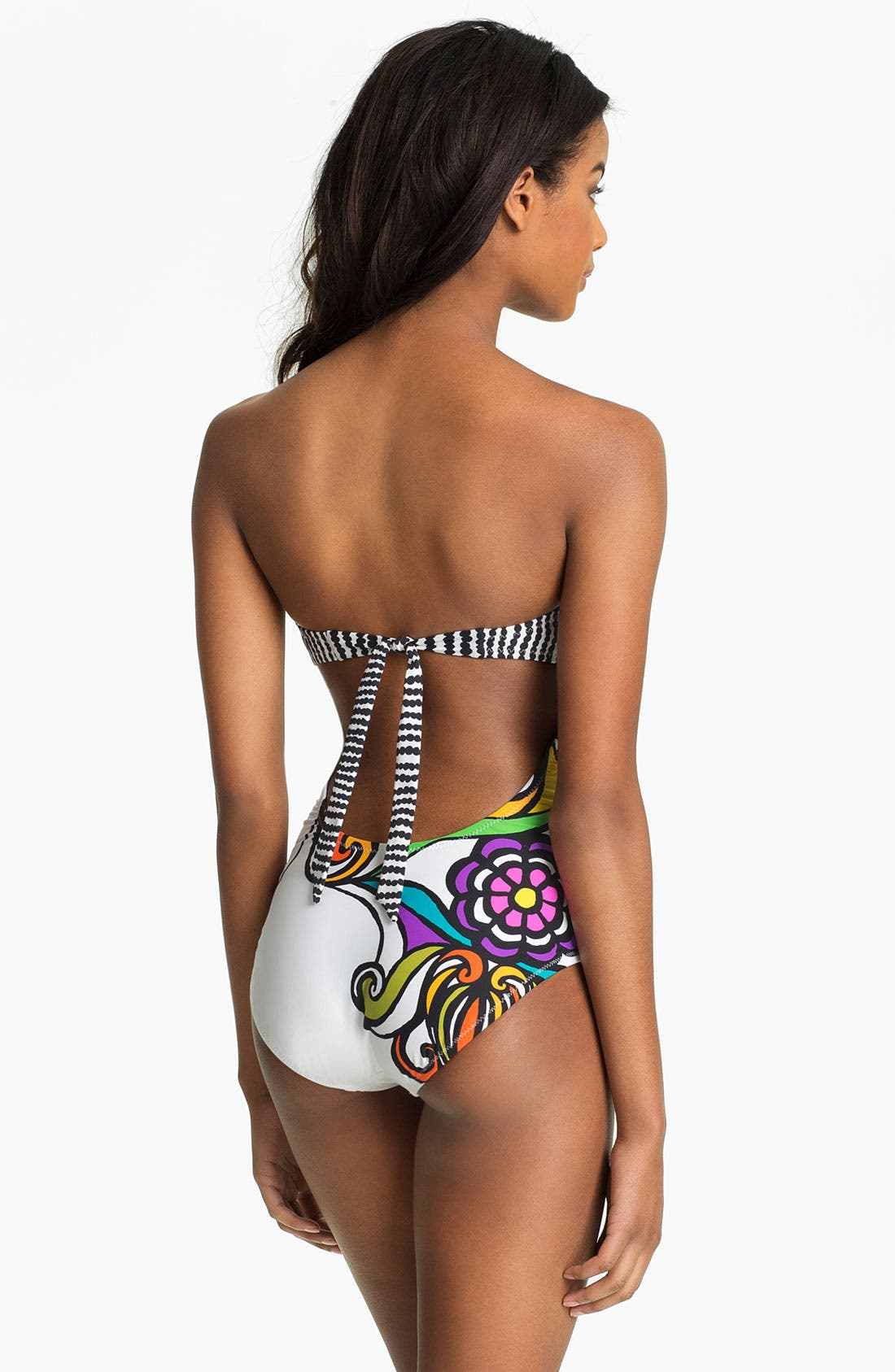 Alternate Image 2  - Trina Turk 'Aquarius' One Piece Swimsuit