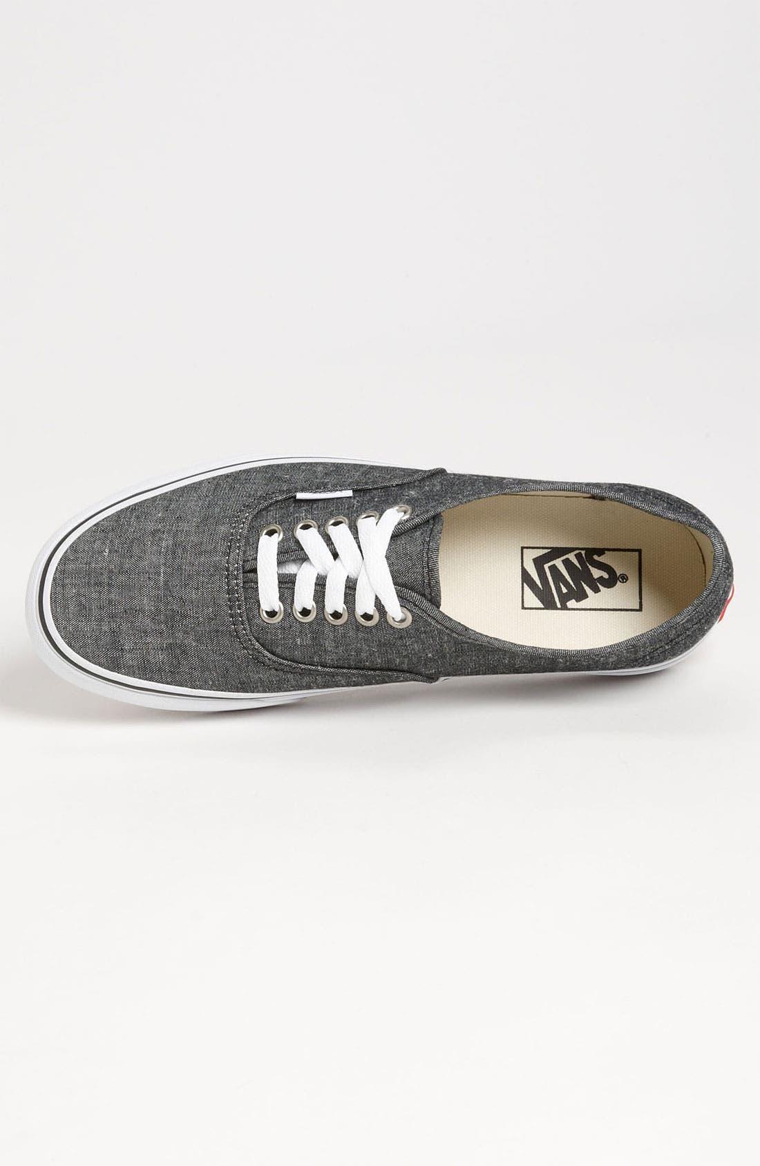 Alternate Image 3  - Vans 'Authentic' Sneaker (Men)