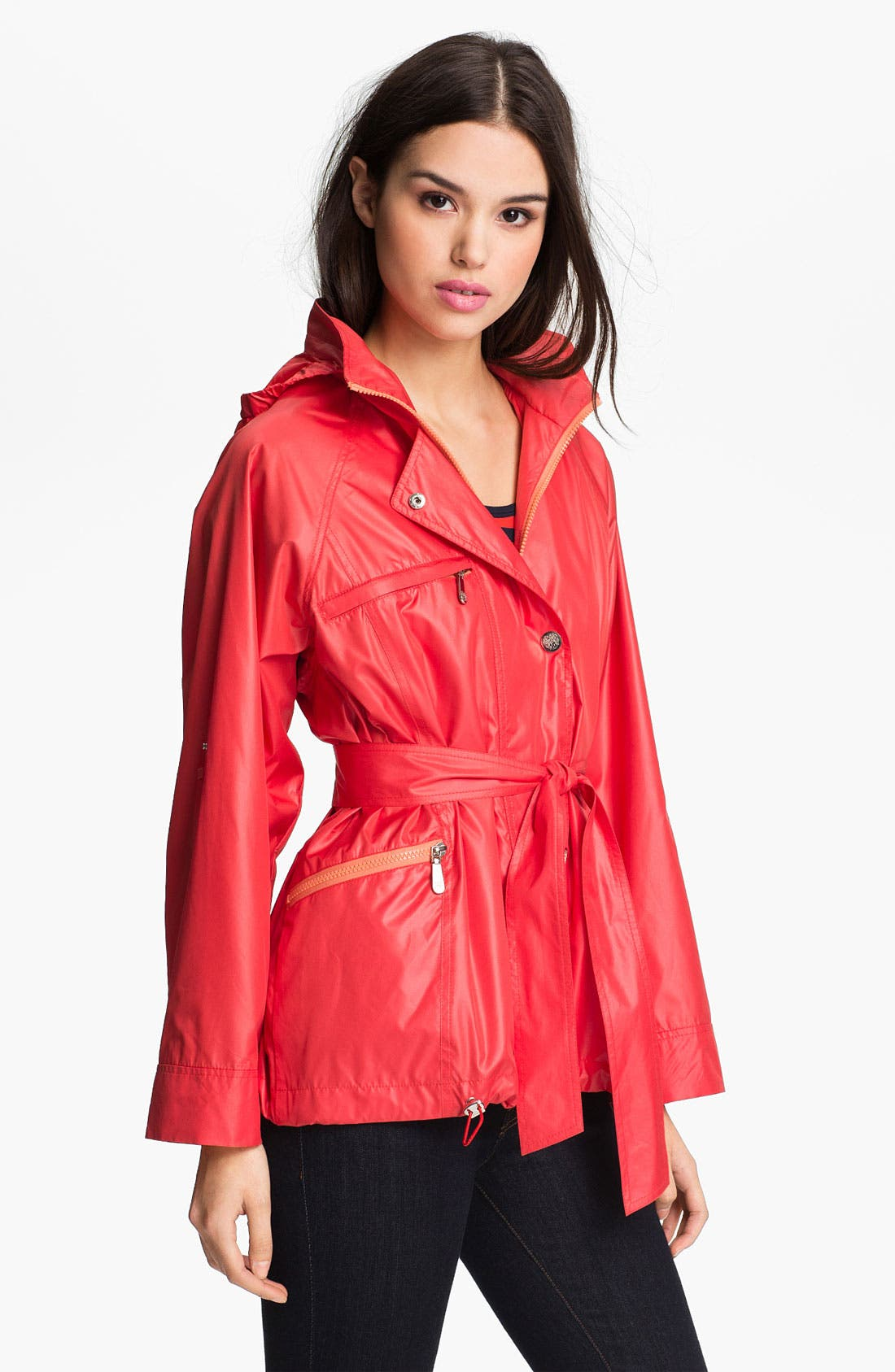 Alternate Image 2  - Vince Camuto 'Scarlet' Roll Sleeve Jacket (Regular & Petite)