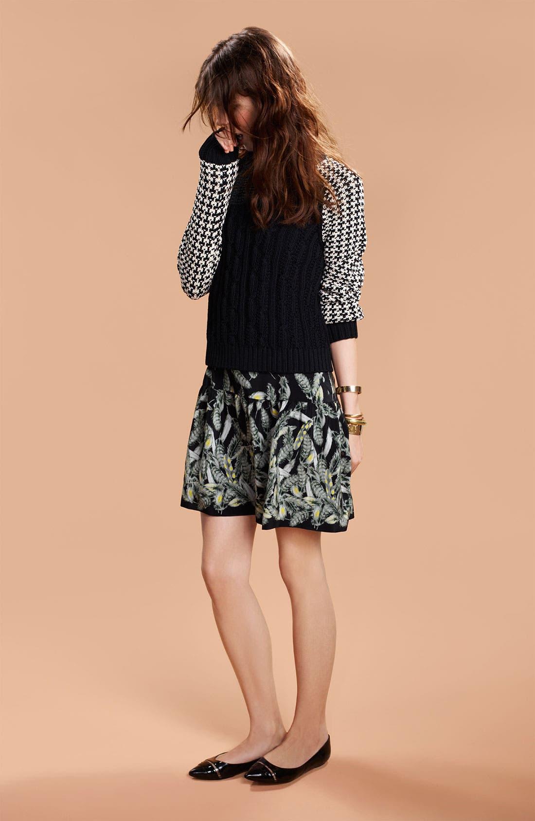 Alternate Image 6  - Miss Wu Contrast Sleeve Sweater (Nordstrom Exclusive)