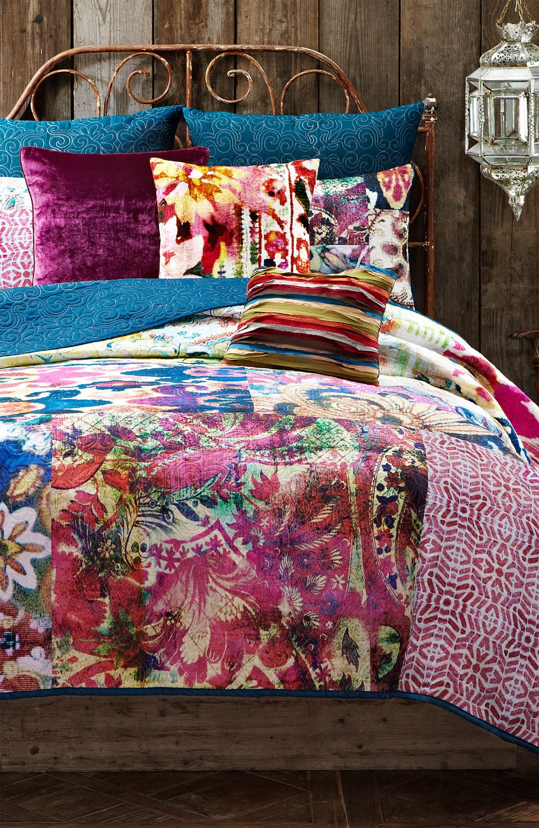 Alternate Image 1 Selected - Poetic Wanderlust 'Leandre' Patchwork Quilt