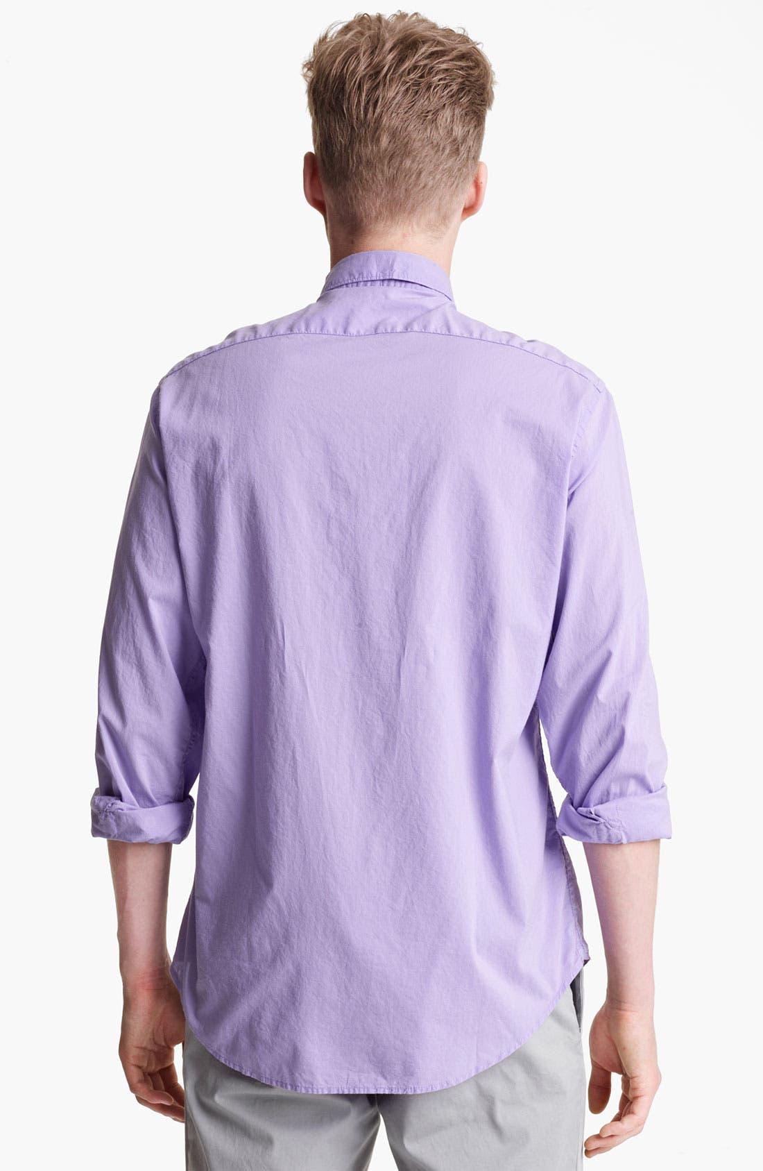 Alternate Image 2  - Mason's Poplin Woven Shirt
