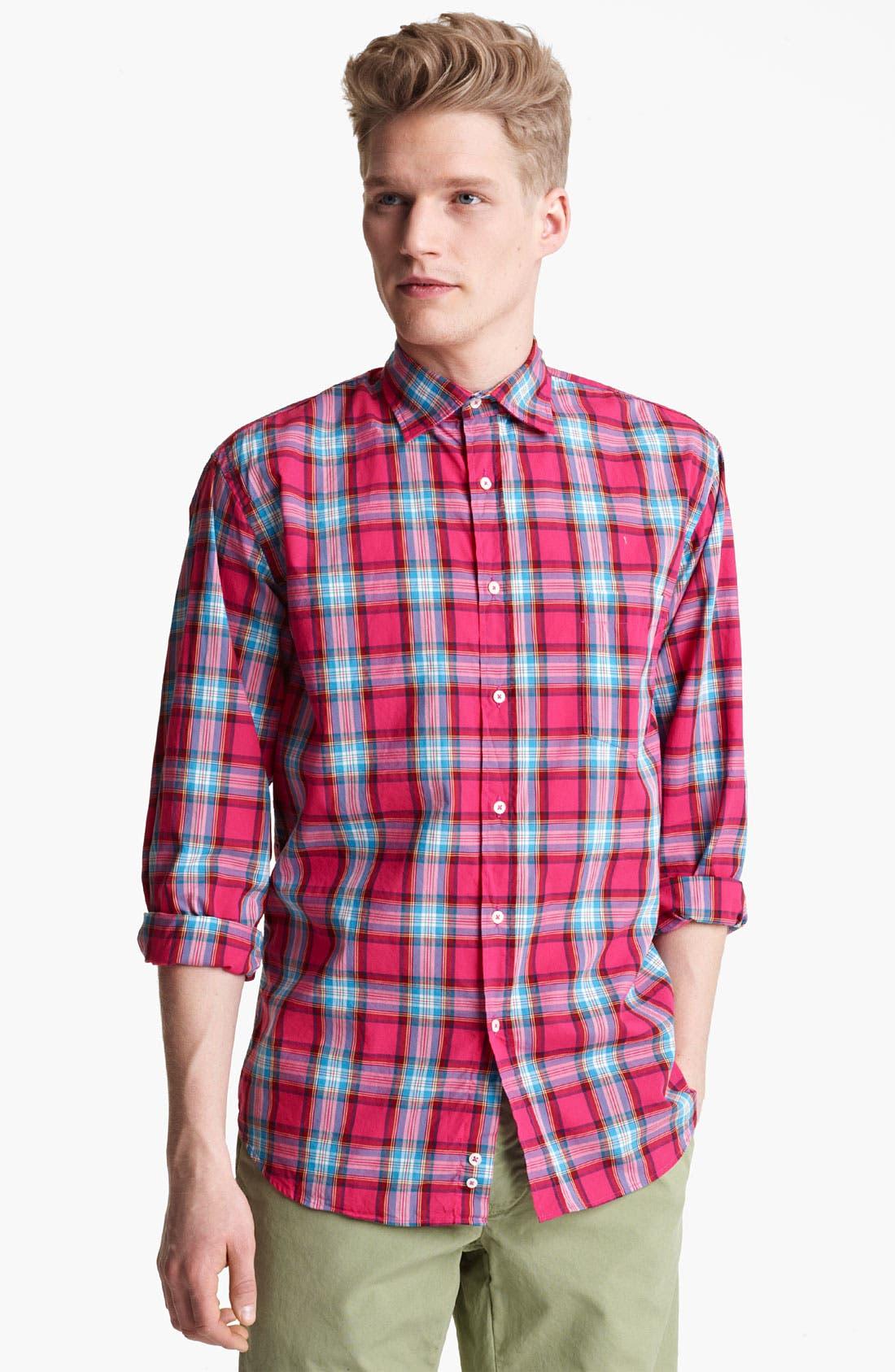 Alternate Image 1 Selected - Mason's Plaid Woven Shirt