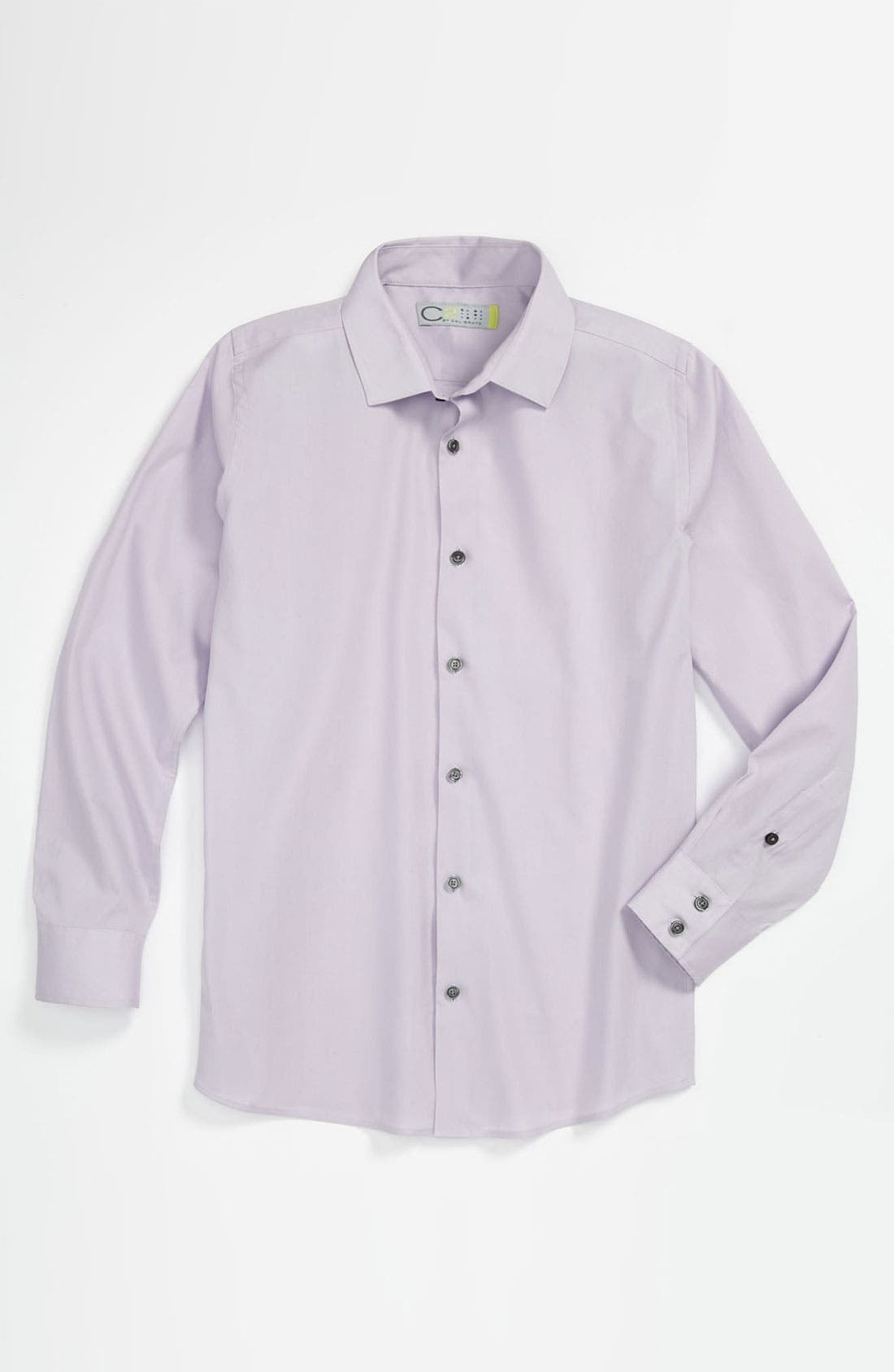 Alternate Image 1 Selected - C2 by Calibrate 'Carter' Dress Shirt (Little Boys)