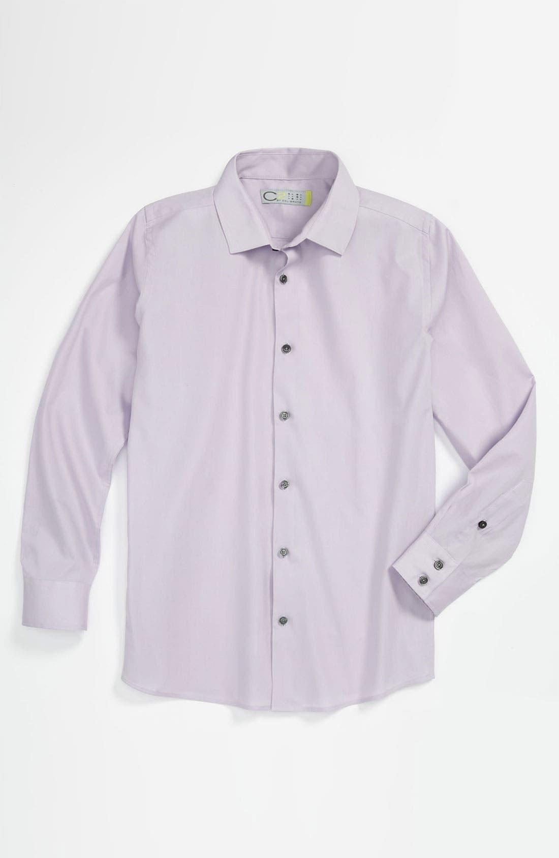 Main Image - C2 by Calibrate 'Carter' Dress Shirt (Little Boys)