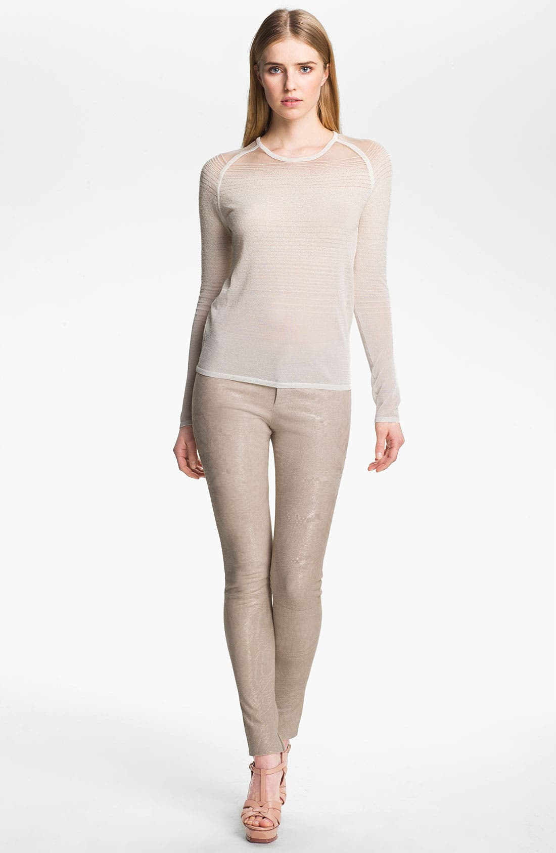 Alternate Image 5  - J Brand Ready-to-Wear 'Bette' Textured Leather Pants