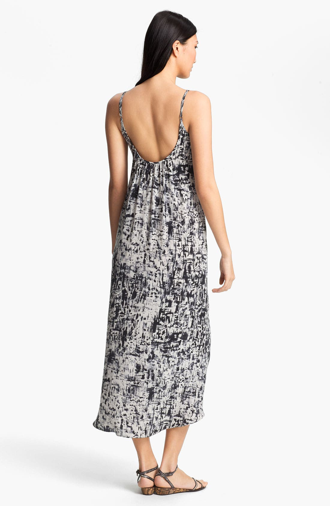 Alternate Image 2  - Gryphon Print Maxi Dress