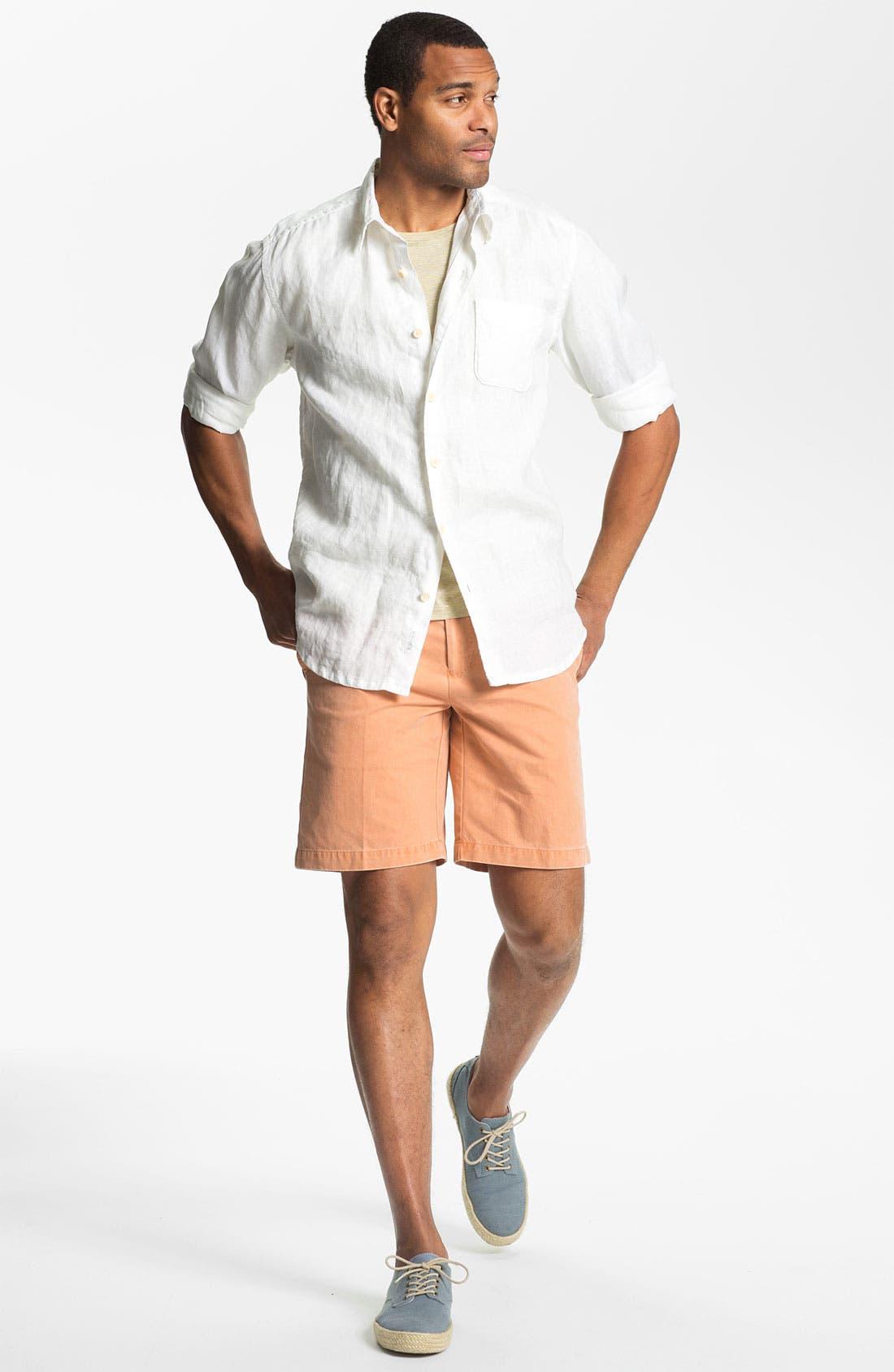 Alternate Image 4  - HUGO Crewneck T-Shirt