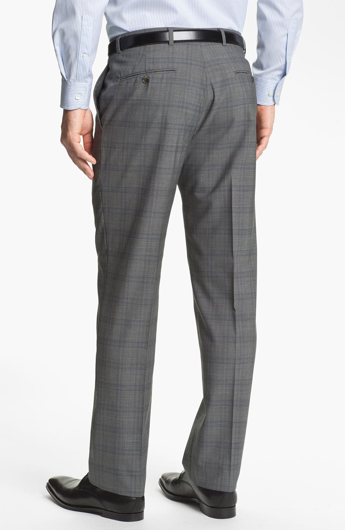 Alternate Image 5  - Hart Schaffner Marx Plaid Wool Suit