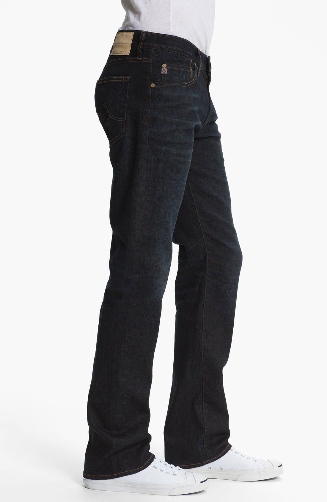 Alternate Image 3  - AG 'Protégé' Straight Leg Jeans (Two Year Matte)