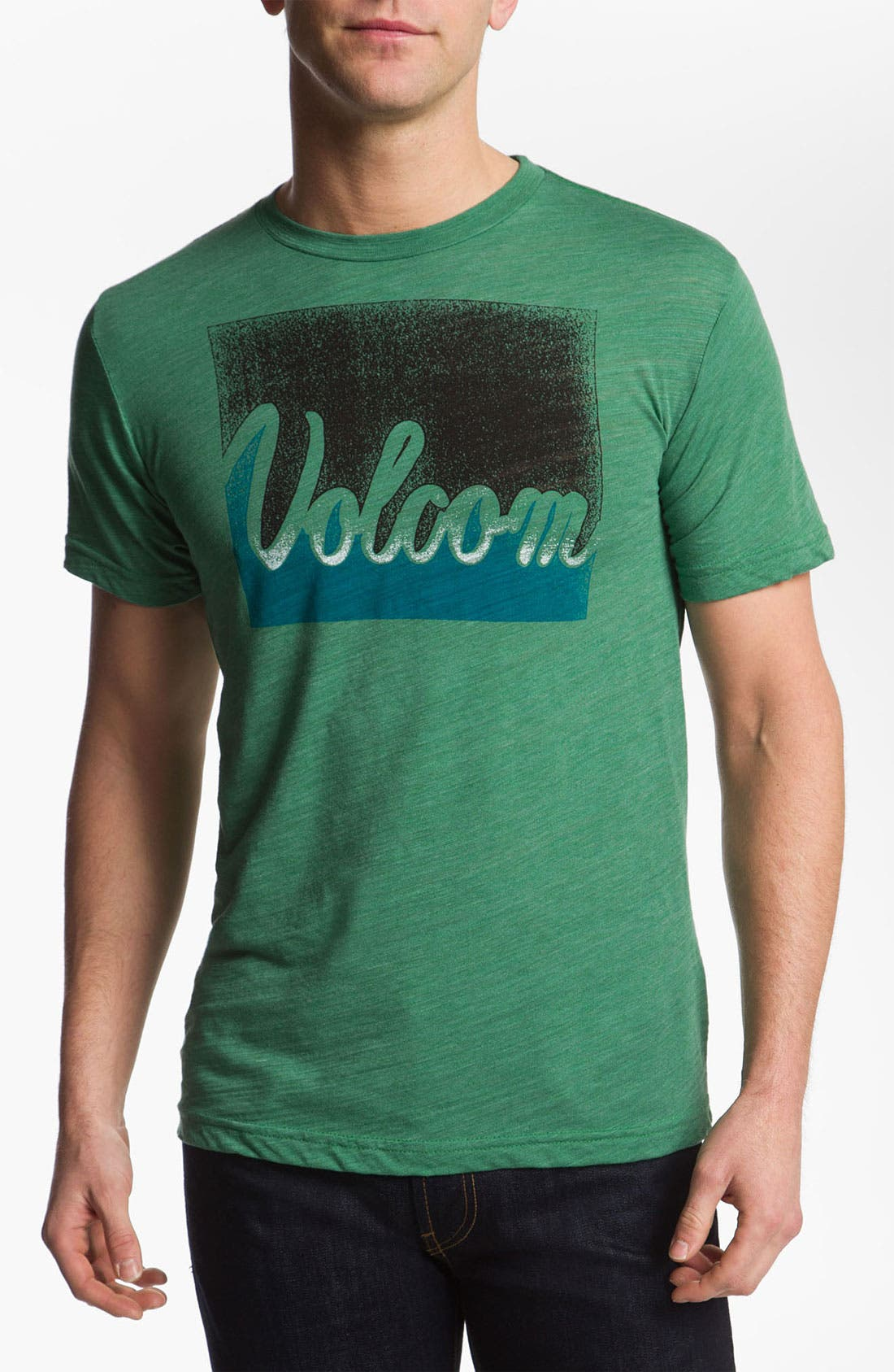 Alternate Image 1 Selected - Volcom 'Leave' Graphic T-Shirt