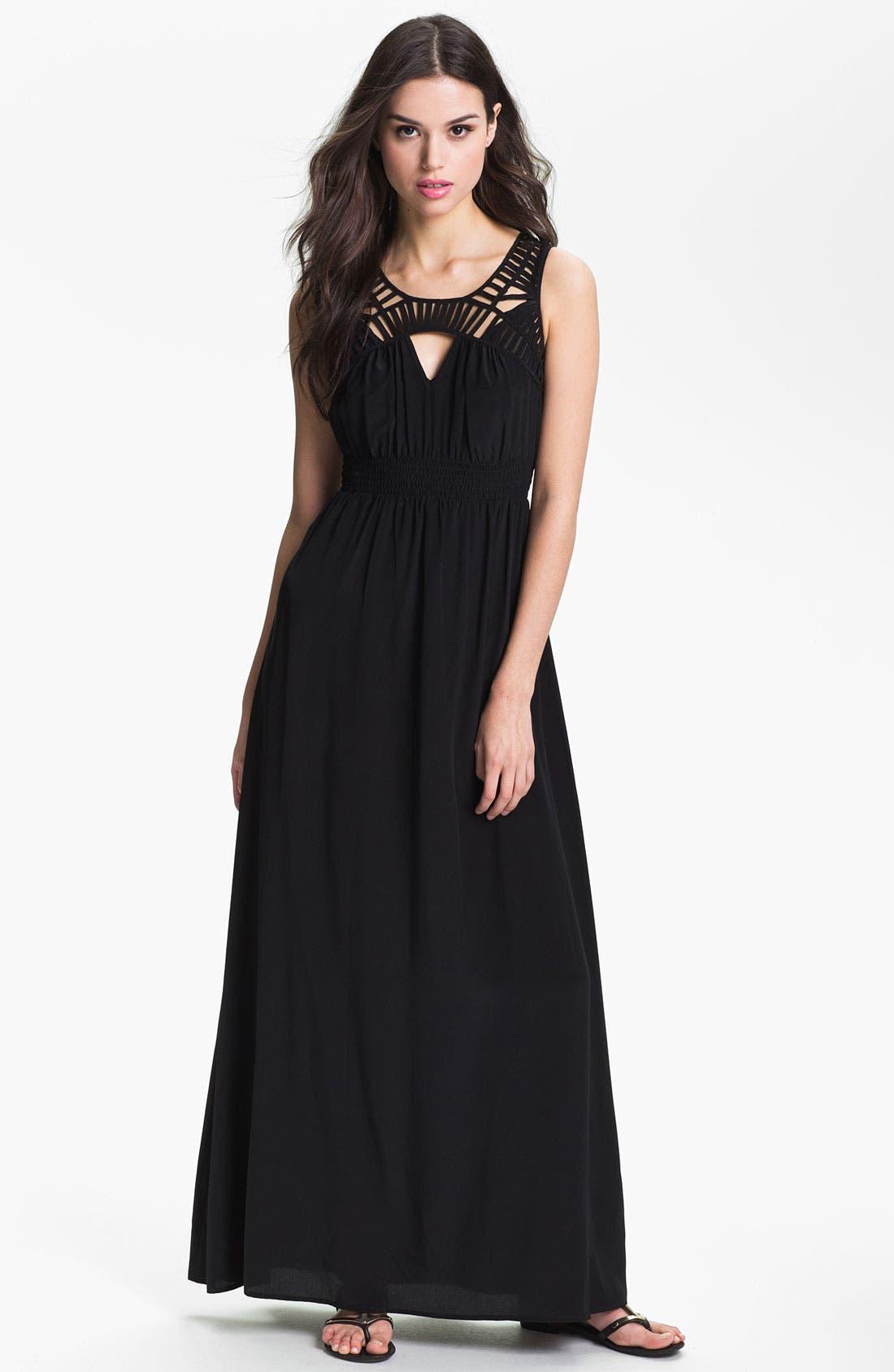 Main Image - Presley Skye Silk Maxi Dress