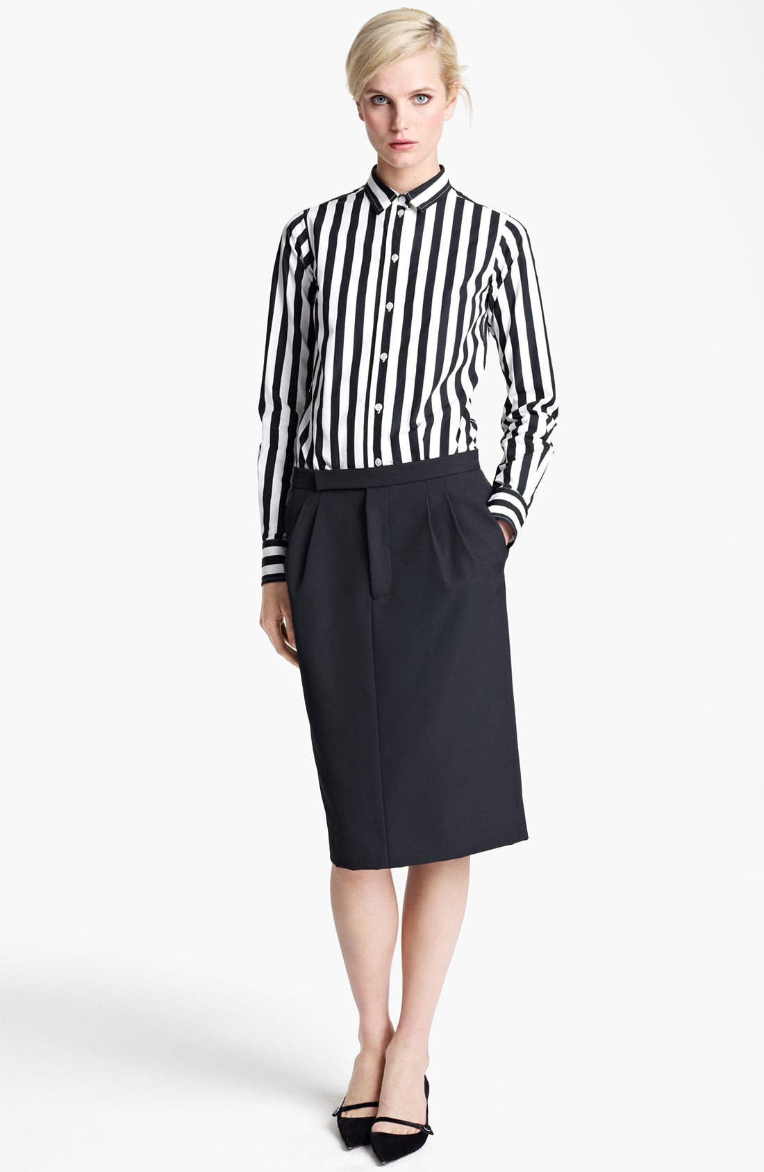 Alternate Image 4  - MARC JACOBS Techno Twill Skirt
