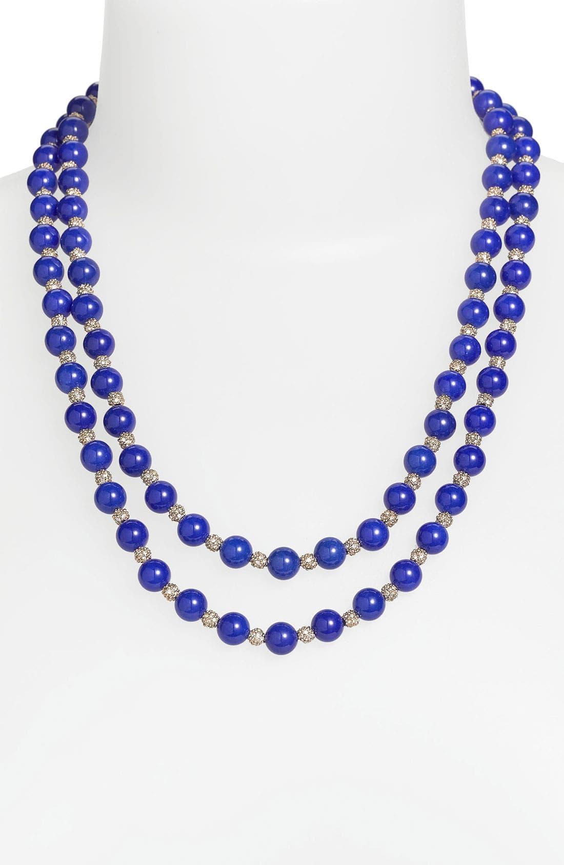 Main Image - St. John Collection Dyed Quartz Double Strand Necklace
