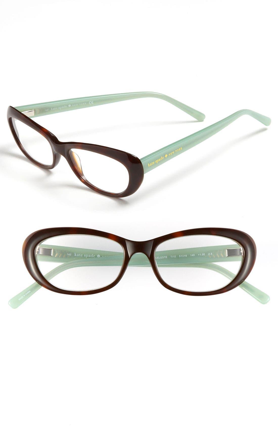Alternate Image 1 Selected - kate spade new york 51mm reading glasses