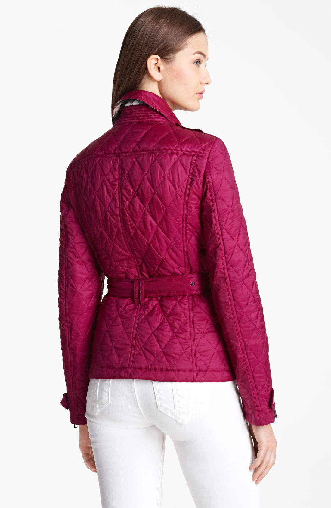 Alternate Image 2  - Burberry Brit 'Toppling' Quilted Jacket