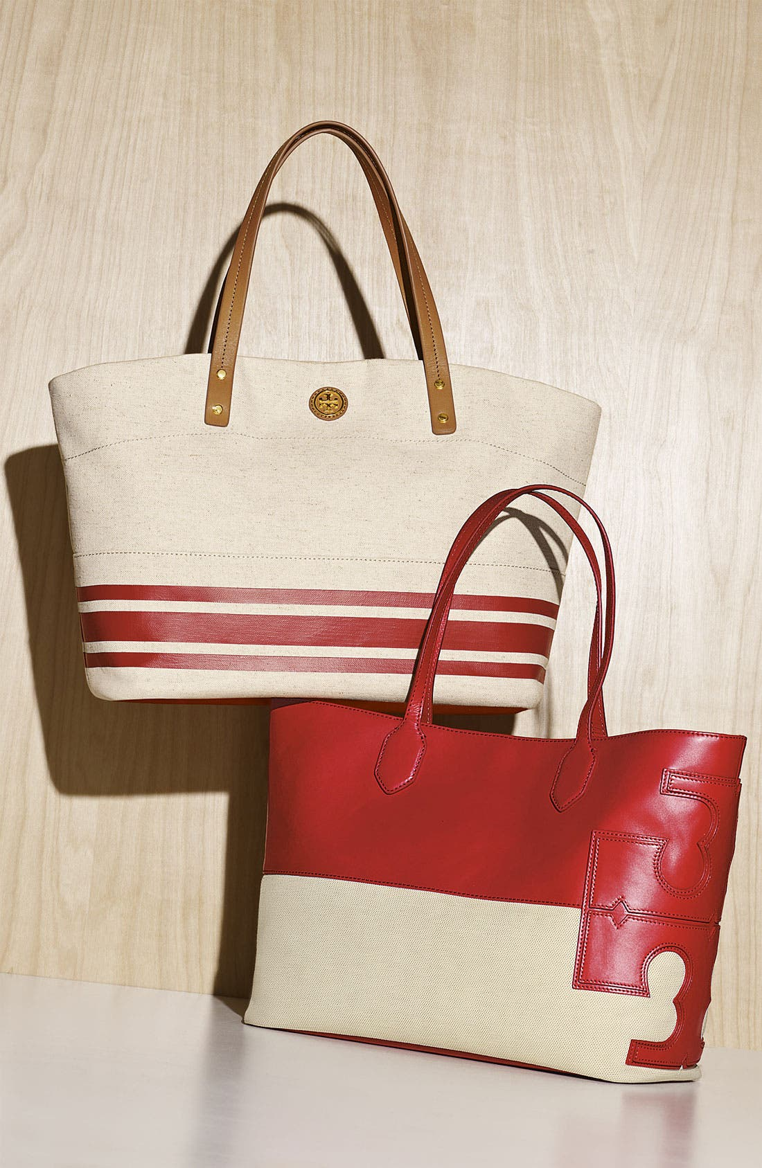 Alternate Image 5  - Tory Burch 'Stacked T' Tote