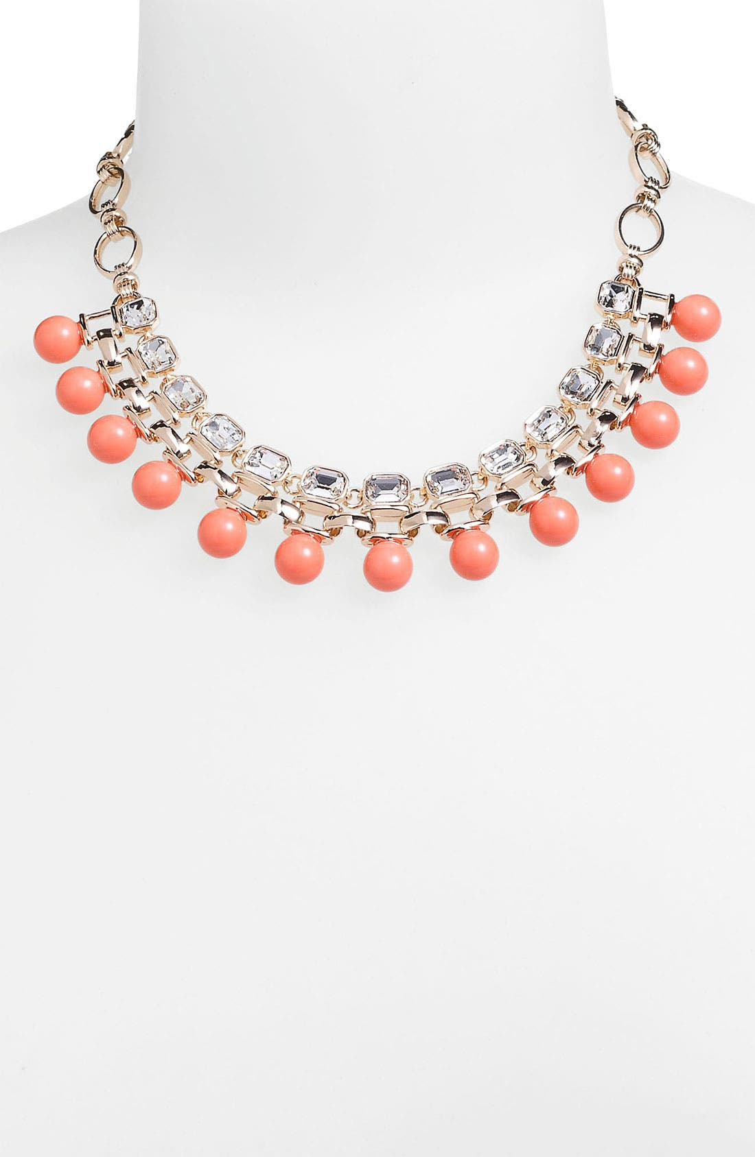 Alternate Image 2  - Anne Klein Bib Necklace