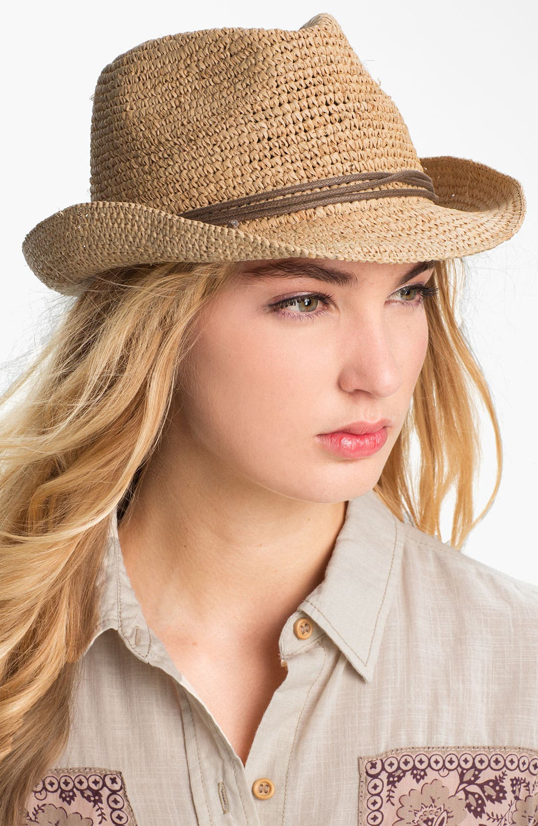 Alternate Image 1 Selected - Tarnish 'Natural' Fedora