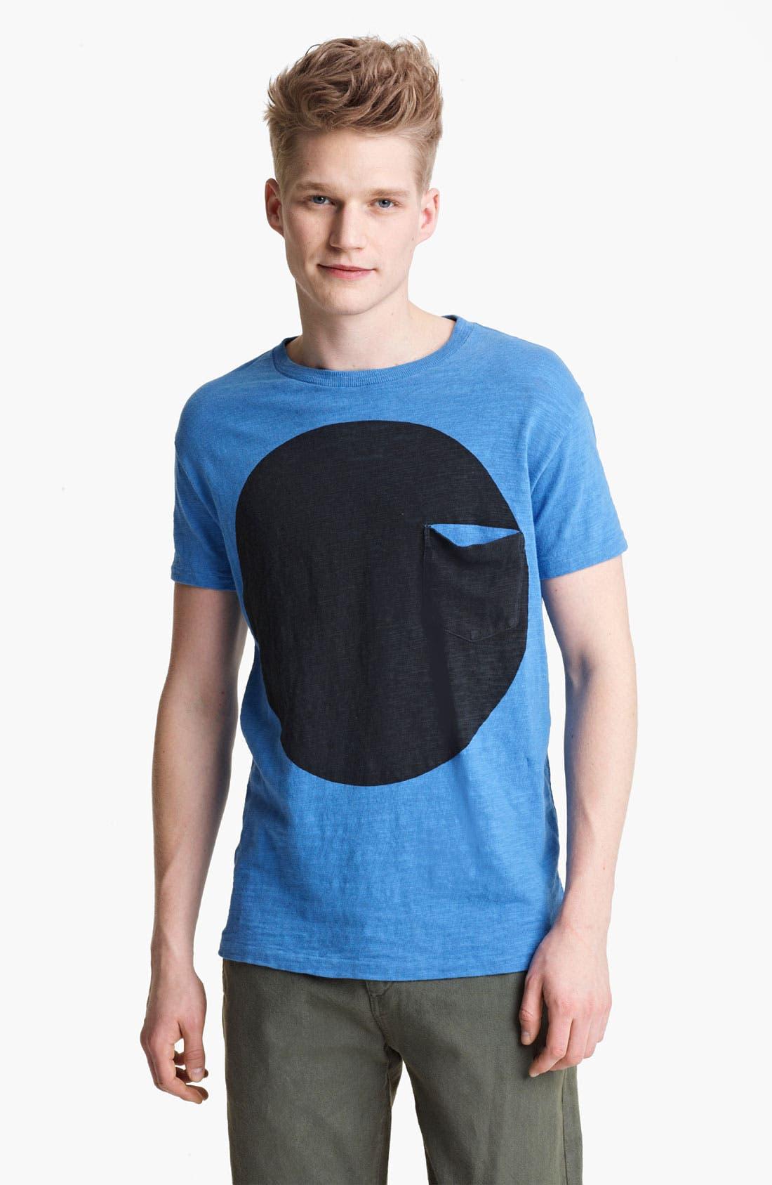 Main Image - rag & bone Circle Print Graphic T-Shirt