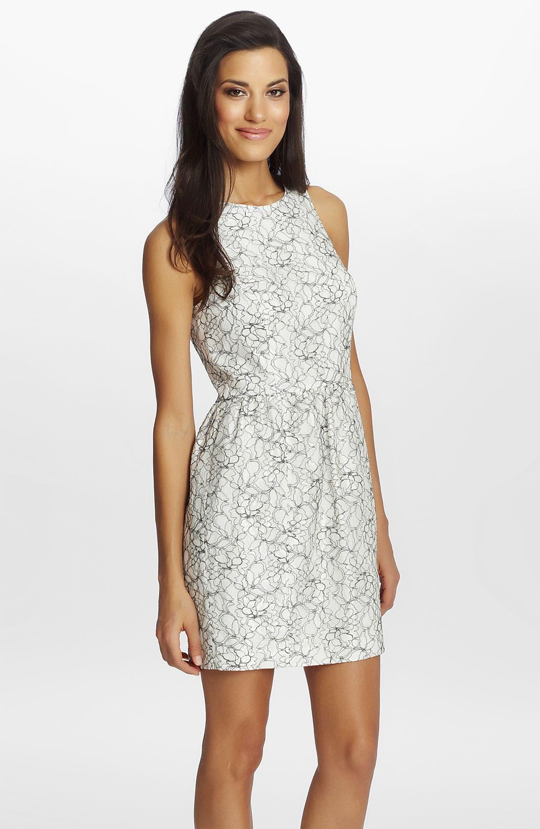 Alternate Image 1 Selected - Cynthia Steffe 'Brooklyn' Lace Sheath Dress