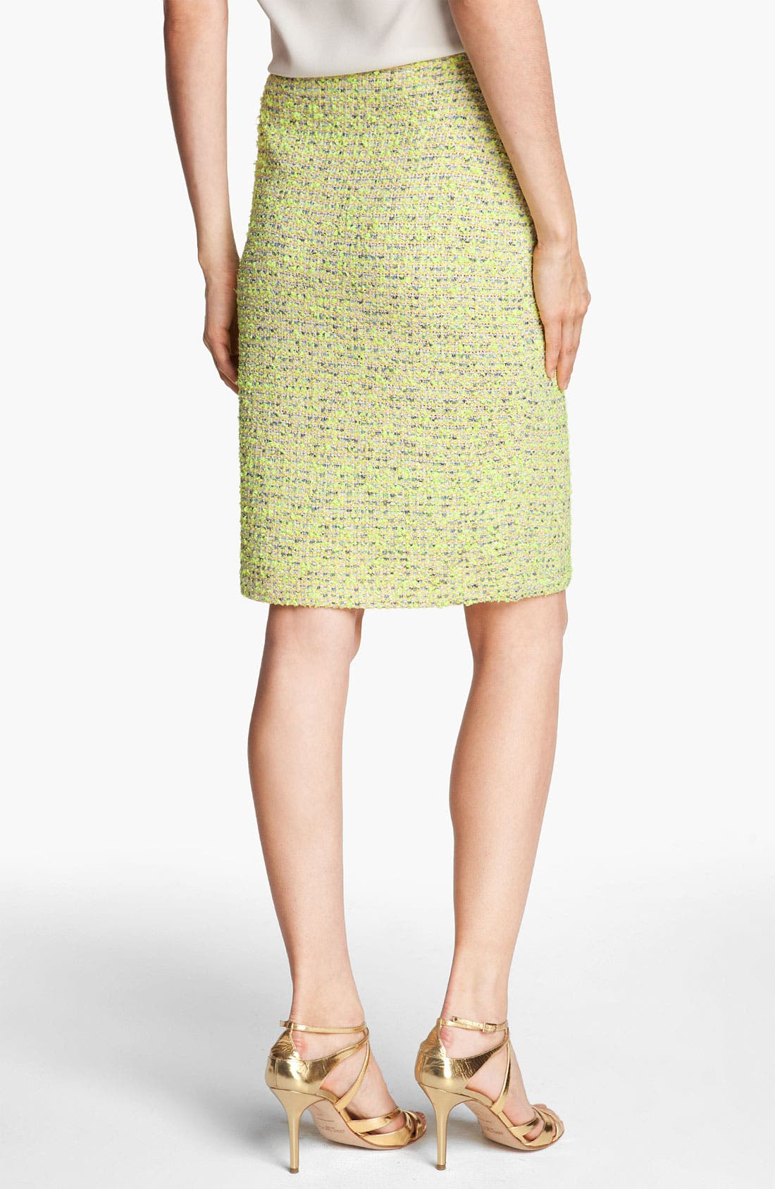 Alternate Image 4  - St. John Collection 'Park Lane' Tweed Skirt