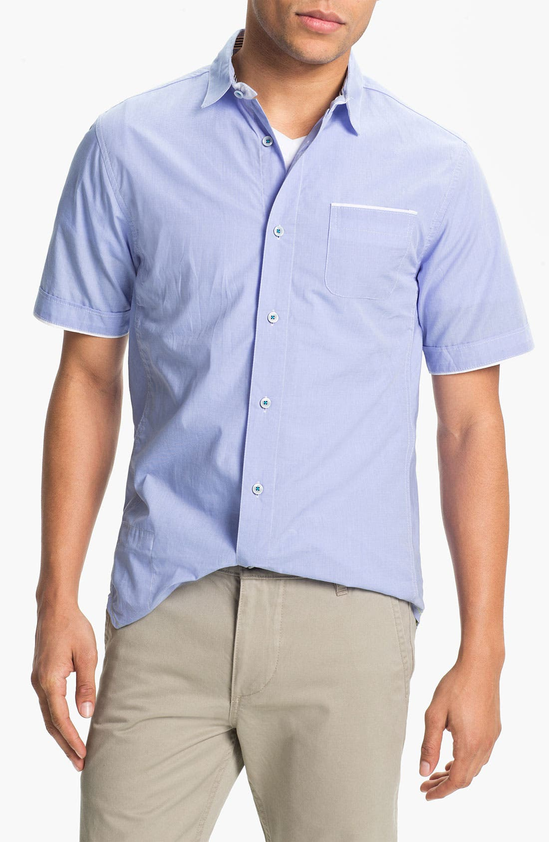 Alternate Image 1 Selected - Descendant of Thieves End-on-End Woven Shirt