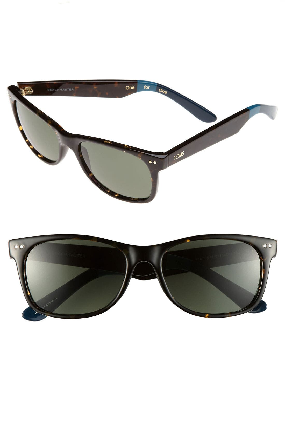 Alternate Image 1 Selected - TOMS 'Beachmaster' 55m Sunglasses