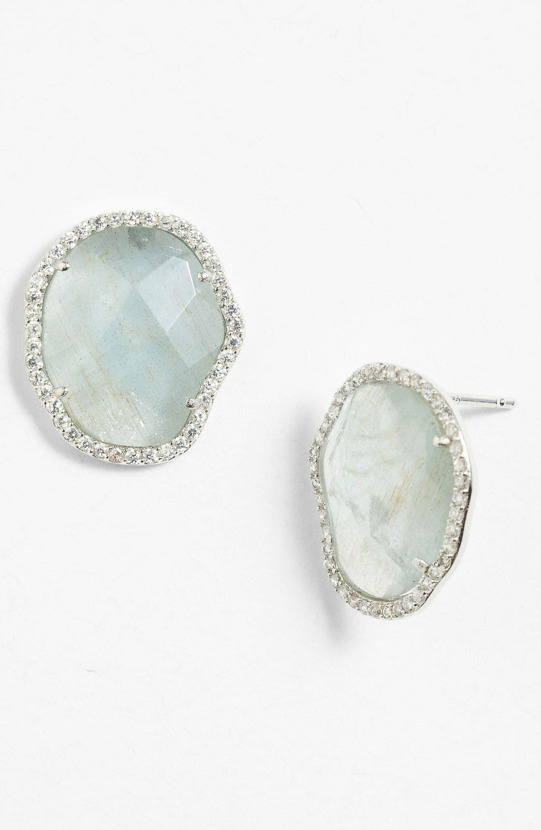 Alternate Image 1 Selected - Nadri Stud Earrings (Nordstrom Exclusive)