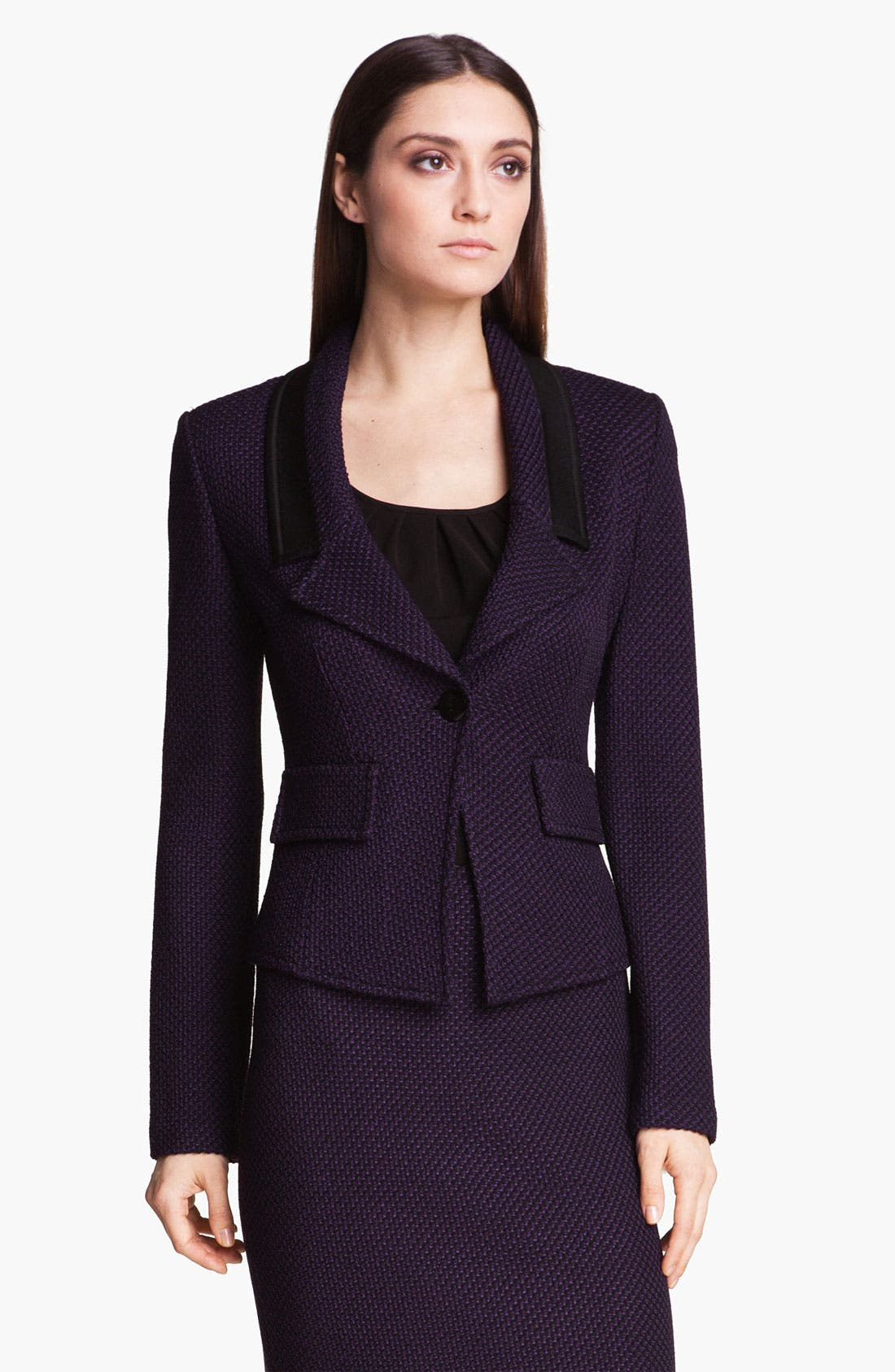 Alternate Image 1 Selected - St. John Collection 'Waldorf' Tweed Jacket