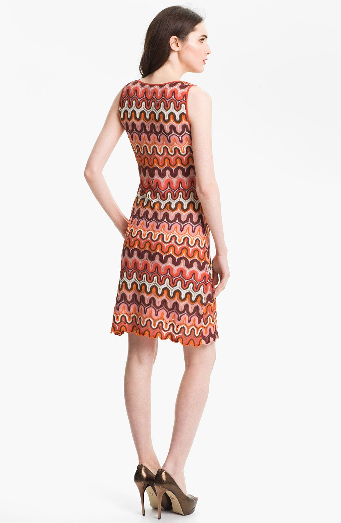 Alternate Image 2  - Karen Kane Crochet Tank Dress