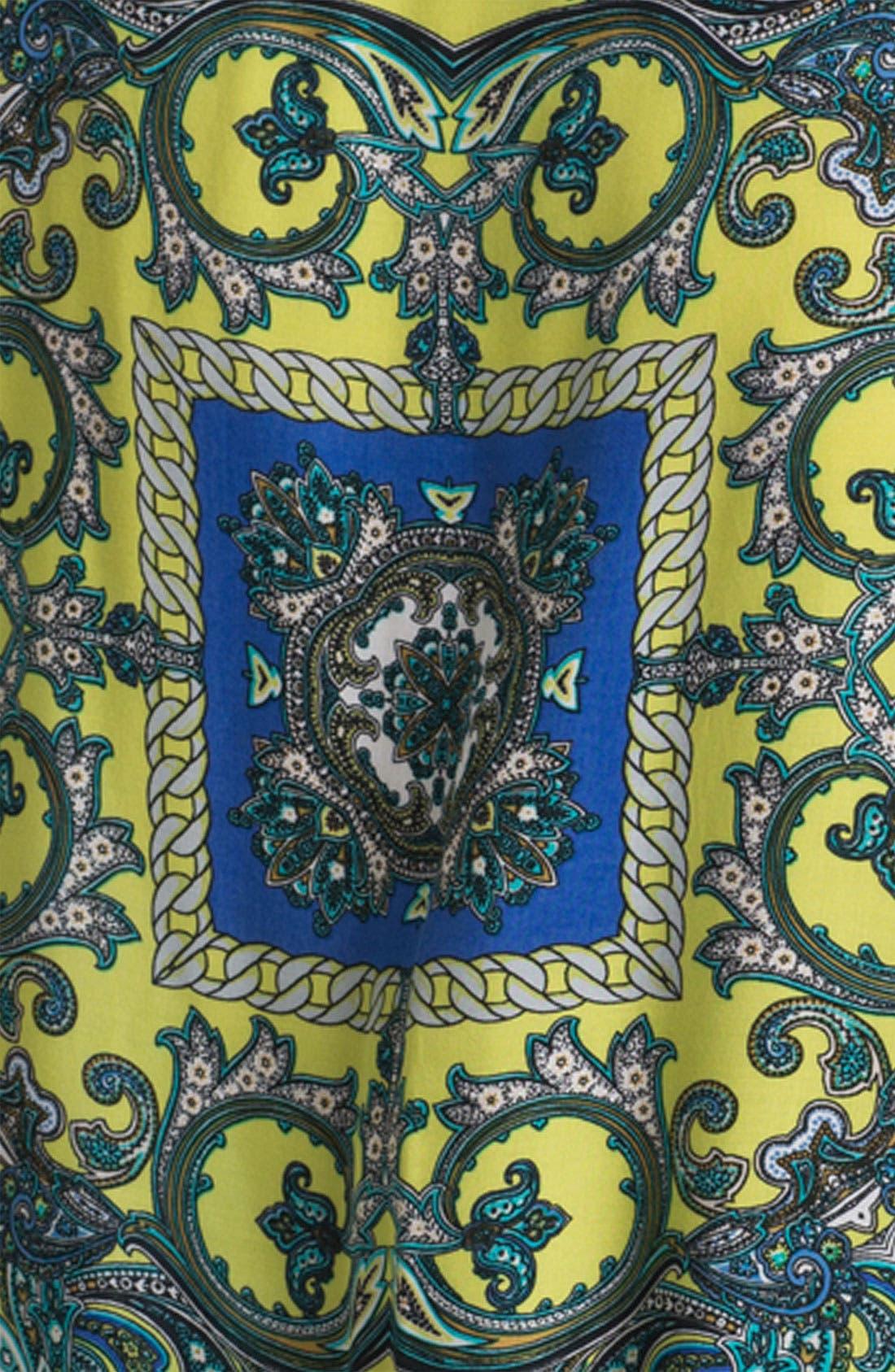 Alternate Image 2  - Karen Kane Paisley Scarf Print Top